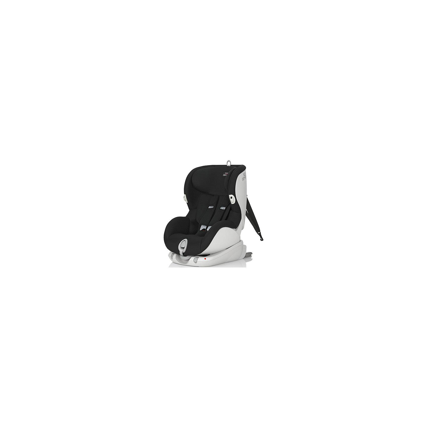 Автокресло Britax Romer TRIFIX, 9-18 кг, Cosmos BlackГруппа 1 (От 9 до 18 кг)<br>Автокресло Trifix, Britax Roemer - комфортная надежная модель, которая сделает поездку Вашего ребенка приятной и безопасной. Сиденье кресла в форме кокона обеспечивает максимальный комфорт и защиту. Широкий подголовник регулируется по высоте в 7 положениях в зависимости от роста ребенка. Угол наклона спинки имеет несколько положений, что позволяет выбрать наиболее удобное для ребенка. Кресло оснащено регулируемыми 5- точечными ремнями безопасности с мягкими плечевыми накладками и централизованной регулировкой натяжения. Глубокие боковины с мягкими вставками и система подушек безопасности SI-PAD обеспечивают оптимальную защиту при боковых ударах, а Pivot Link - система подвижных креплений Isofix минимизирует движение кресла вперед при лобовом столкновении.<br><br>Автокресло устанавливается лицом по ходу движения только с помощью системы Isofix. Усовершенствованное крепление Isofix+ характеризуется высоким уровнем расположения фиксаторов, что позволяет значительно снизить энергию удара при столкновении. Якорный ремень V-Tether является третьей точкой крепления автокресла и в случае столкновения поглощает силы удара пропорционально силам, возникающим при столкновении. Цветовые индикаторы впереди кресла показывают правильность его установки. Обивка кресла изготовлена из высококачественных материалов, съемные тканевые чехлы можно стирать при температуре 30С. Автокресло имеет стандарт безопасности ECE R 44/04. Рассчитано на детей от 9 мес. до 3-4 лет, весом 9-18 кг.<br><br>Дополнительная информация:<br><br>- Цвет: Cosmos Black. <br>- Материал: текстиль, пластик.<br>- Возраст: 9 мес. - 4 года (9-18 кг.).<br>- Размер (ВхШхД): 64 х 45 х 54 см.<br>- Вес: 10,8 кг.<br><br>Автокресло TRIFIX, 9-18 кг., Britax Roemer, Cosmos Black, можно купить в нашем интернет-магазине.<br><br>Ширина мм: 540<br>Глубина мм: 450<br>Высота мм: 650<br>Вес г: 11800<br>Возраст от месяцев: 9<br>Возраст до месяцев: 48<br>Пол