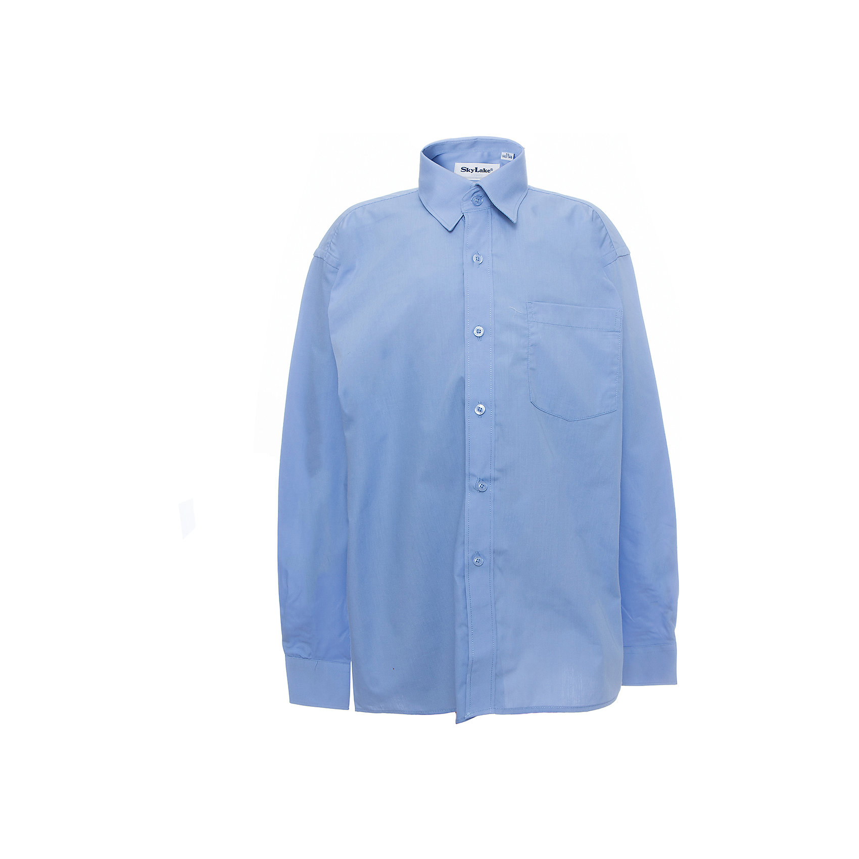 Рубашка для мальчика SkylakeБлузки и рубашки<br>Рубашка для мальчика от известного бренда Skylake<br><br>Состав:<br>80% хлопок, 20% п/э<br><br>Ширина мм: 174<br>Глубина мм: 10<br>Высота мм: 169<br>Вес г: 157<br>Цвет: синий<br>Возраст от месяцев: 132<br>Возраст до месяцев: 144<br>Пол: Мужской<br>Возраст: Детский<br>Размер: 152,122,158,146,140,134,128<br>SKU: 4723370