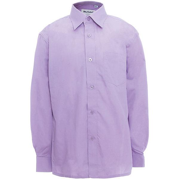 Купить Рубашка для мальчика Skylake, Россия, лиловый, 134, 158, 128, 122, 152, 146, Мужской
