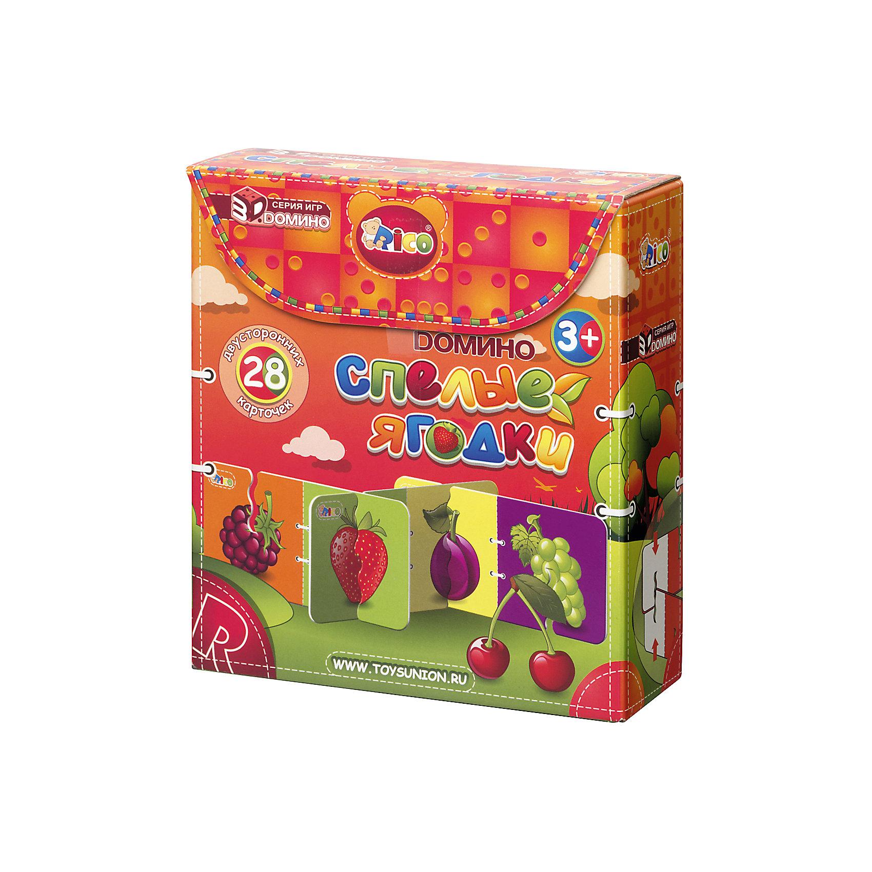 Домино Спелые ягоды, RicoДомино<br><br><br>Ширина мм: 180<br>Глубина мм: 165<br>Высота мм: 60<br>Вес г: 352<br>Возраст от месяцев: 36<br>Возраст до месяцев: 84<br>Пол: Унисекс<br>Возраст: Детский<br>SKU: 4723571