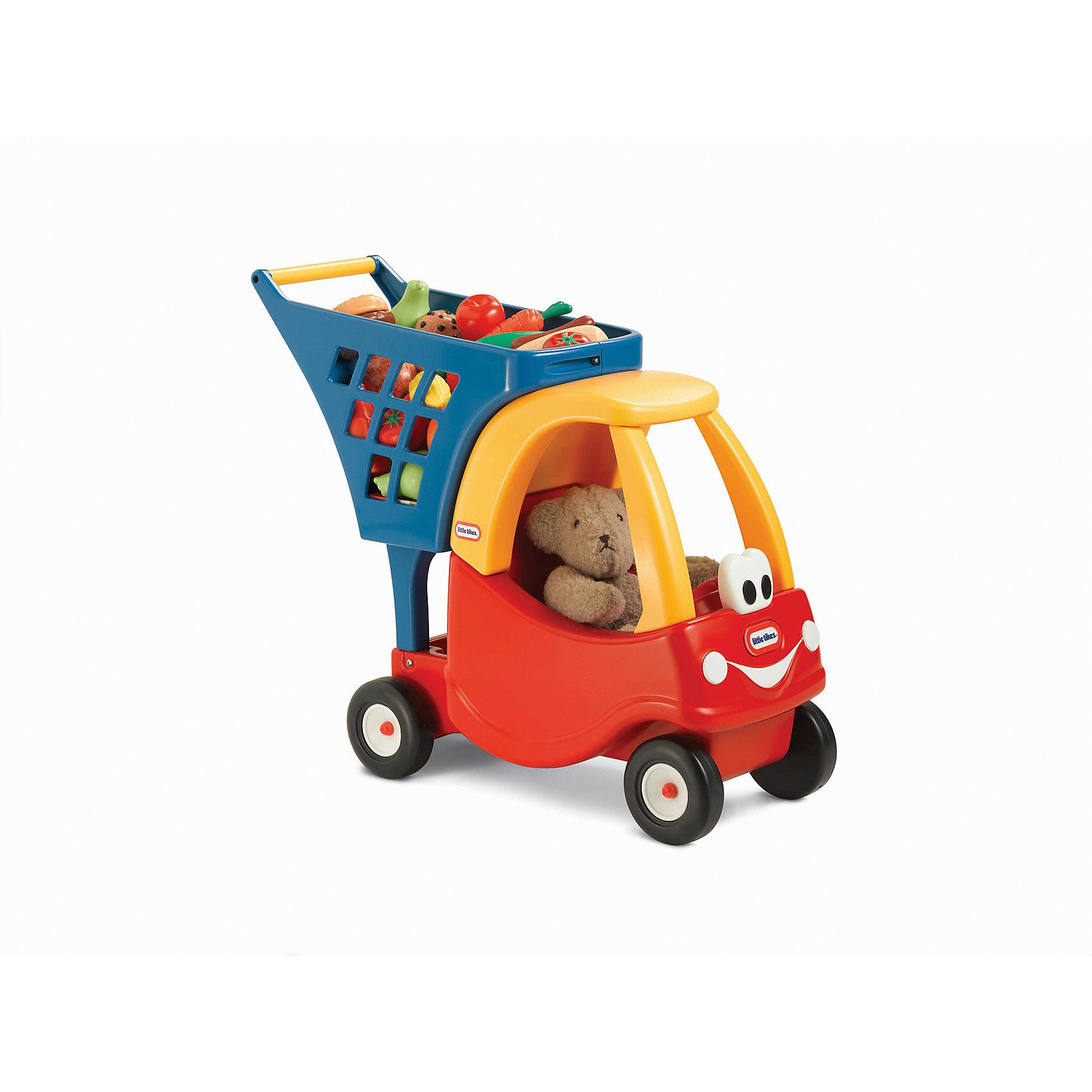 Каталка, красная, Little TikesМашинки-каталки<br>Яркая машинка дополнена корзиной для покупок.  Дети могут катать кукол, мягкие игрушки во время игры в магазин. Ребенок сможет катить машинку перед собой и учиться ходить, получая огромное удовольствие и пользу от игры. Каталка выполнена из высококачественного прочного пластика безопасного для детей. <br><br>Дополнительная информация:<br><br>- Материал: пластик.<br>- Размер упаковки: 47 x 26 x 54 см.<br><br>Каталку красную, Little Tikes, (Литл Тайкс), можно купить в нашем магазине.<br><br>Ширина мм: 258<br>Глубина мм: 545<br>Высота мм: 465<br>Вес г: 3600<br>Возраст от месяцев: 36<br>Возраст до месяцев: 84<br>Пол: Унисекс<br>Возраст: Детский<br>SKU: 4724042