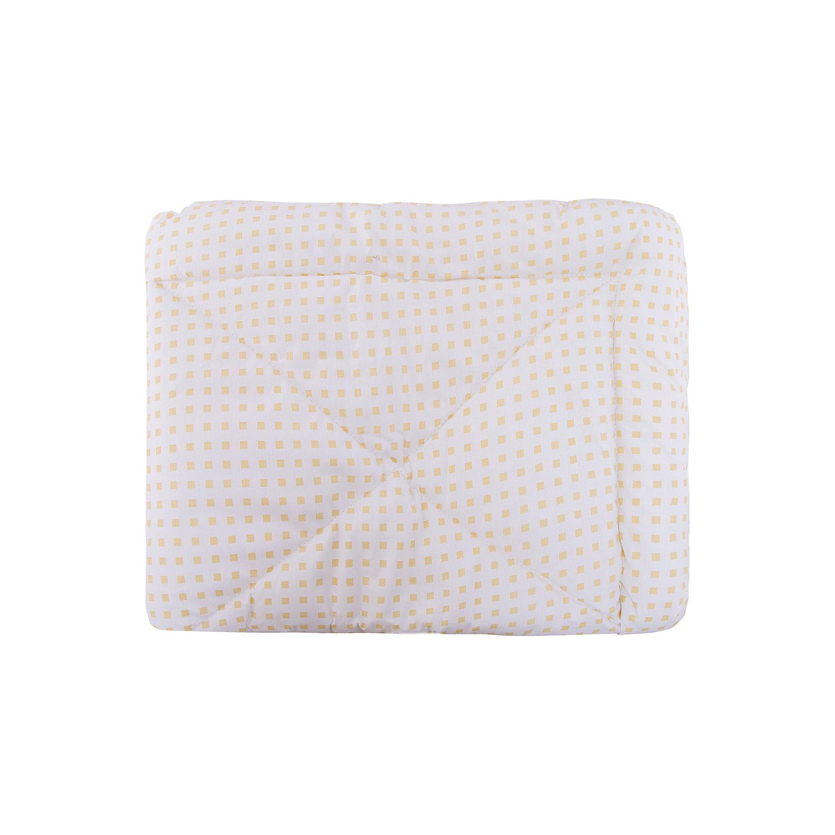 Одеяло детское ЗимаДомашний текстиль<br>Легкое и удобное, а главное теплое, зимнее одеяло специально для вашего малыша.<br><br>Дополнительная информация:<br><br>-  Безопасно для здоровья.<br>- Верхняя ткань - бязь (100% хлопок),<br>- Наполнитель: высокосиликонизированное волокно Лебяжий пух 100%, полиэстер 200 гр.<br>- Производство: Россия. Товар сертифицирован.<br>-  Размер: 105х140 см<br>Размер в упаковке: 45х4х35 см.<br>Вес в упаковке: 750 г.<br><br>Детское одеяло Зима можно купить в нашем магазине.<br><br>Ширина мм: 450<br>Глубина мм: 40<br>Высота мм: 350<br>Вес г: 750<br>Возраст от месяцев: 0<br>Возраст до месяцев: 36<br>Пол: Унисекс<br>Возраст: Детский<br>SKU: 4724676