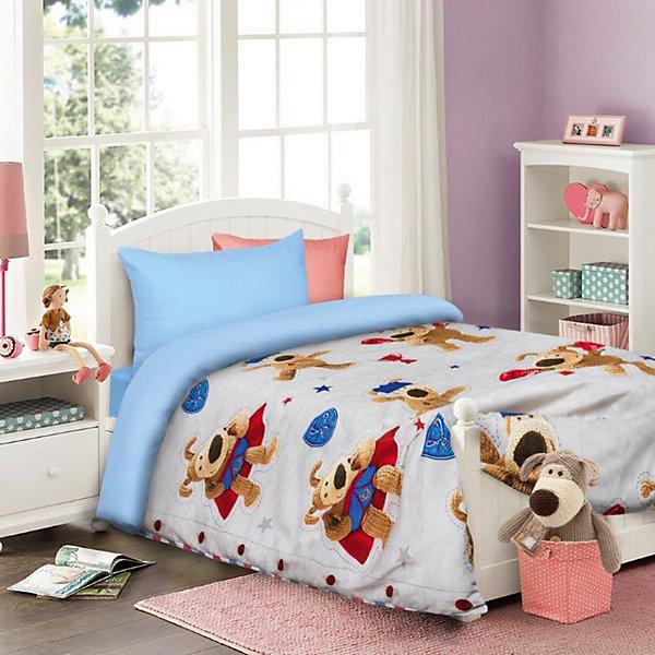 Постельное белье детское Буфл, 1,5-спальный (на сером, 50*70)Детское постельное бельё<br>Прекрасный комплект постельного белья с яркими и красочными персонажами любимых мультфильмов.<br><br>Дополнительная информация:<br><br>- Используется только высококачественный материал и безопасные красители<br>- Ткань - бязь (100% хлопок),<br>- Производство: Россия. Товар сертифицирован.<br>- Размер:  Пододеяльник 145х210; простынь, 150х215; наволочка 50х70. <br>Размер в упаковке: 25х4,5х33 см.<br>Вес в упаковке: 1150 г.<br><br>Сделайте  приятный сюрприз своему малышу!<br><br>Детский комплект Boofle на сером можно купить в нашем магазине.<br><br>Ширина мм: 250<br>Глубина мм: 45<br>Высота мм: 330<br>Вес г: 1150<br>Возраст от месяцев: 36<br>Возраст до месяцев: 144<br>Пол: Мужской<br>Возраст: Детский<br>SKU: 4724680