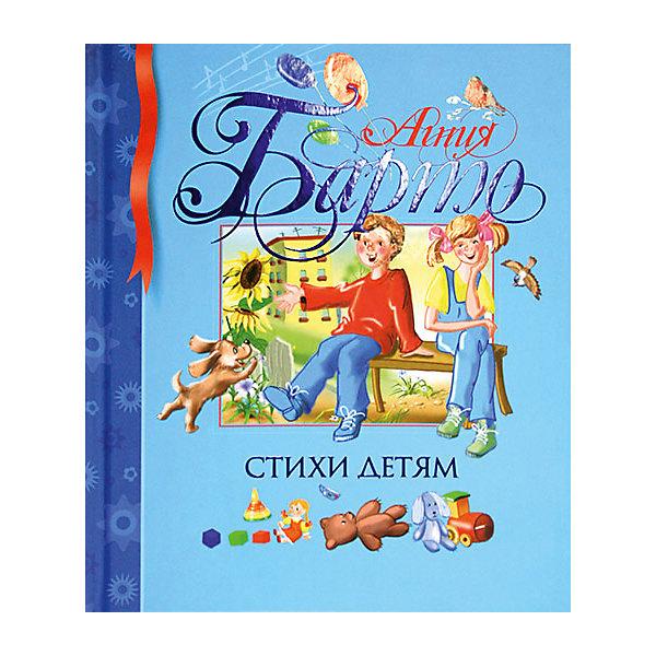 Стихи детям, А.Л. БартоБарто А.Л.<br>В книгу вошли известнейшие, великолепные стихи веселого и доброго друга детства Агнии Львовны Барто. Уже несколько поколений детей выросли со стихами этой замечательной поэтессы. Иронические и шутливые, задорные и грустные произведения писательницы порадуют и вашего ребенка.<br><br>Уникальное издание, в котором вы найдете удивительной красоты иллюстрации, неповторимый стиль оформления.<br><br>Дополнительная информация:<br><br>Автор: Агния Барто;<br>Художник: Ирина Дорошенко;<br>Формат: 23,5х19,5 см;<br>Переплет: твердый переплет;<br>Иллюстрации: цветные;<br>Страниц: 128;<br>Вес: 439 г.;<br>Производитель: Махаон, Россия.<br>Год выпуска: 2015;<br><br>Книгу Агнии Барто Стихи детям можно купить в нашем магазине.<br>Ширина мм: 235; Глубина мм: 195; Высота мм: 12; Вес г: 439; Возраст от месяцев: 36; Возраст до месяцев: 72; Пол: Унисекс; Возраст: Детский; SKU: 4725993;