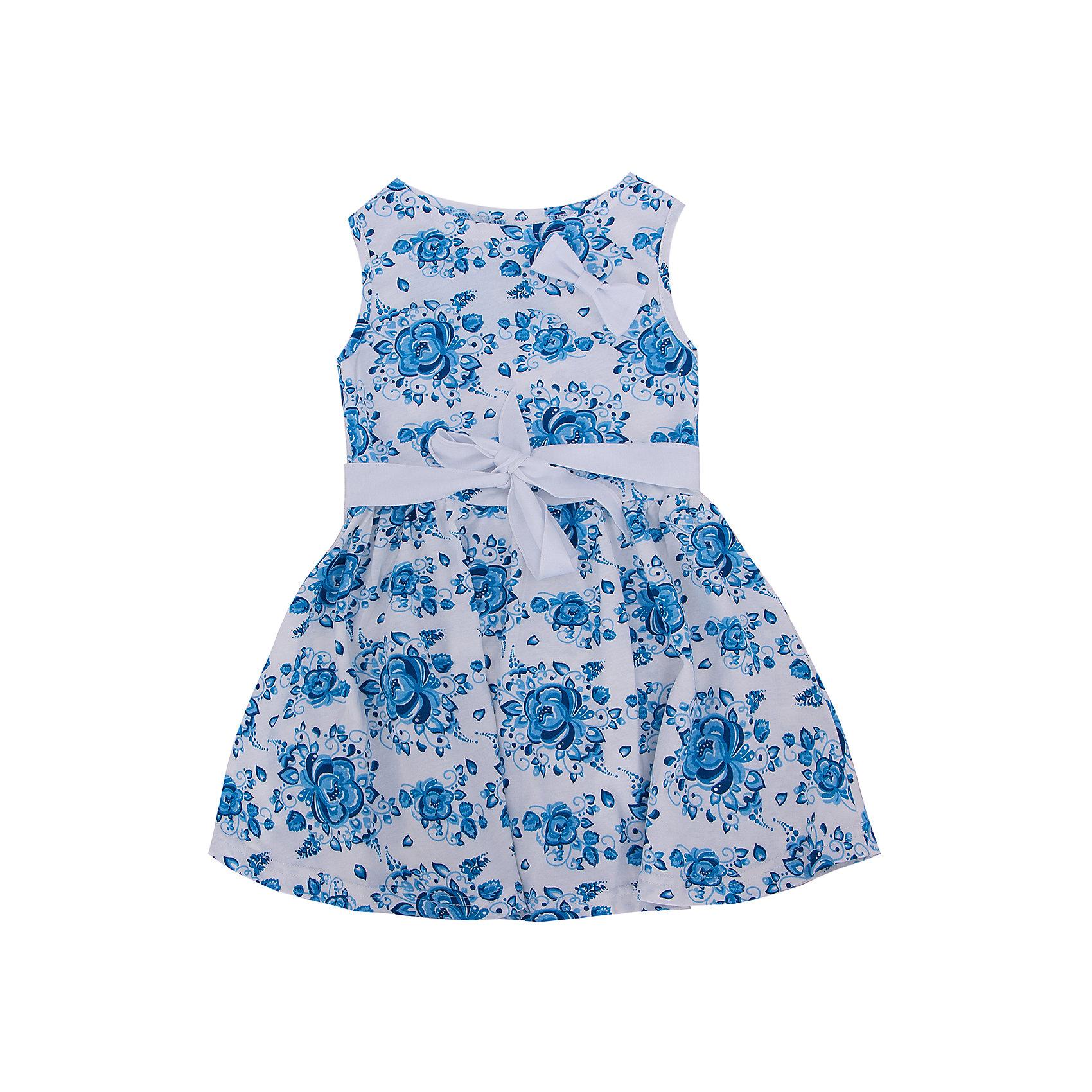 Платье для девочки АпрельПлатье Апрель<br>Легкое летнее платье с поясом приведет в восторг юных модниц. Платье изготовлено из тонкого прочного хлопкового трикотажного полотна - кулир. Детская одежда из кулира отлично пропускает воздух, что идеально подходит для жаркого и знойного лета. Приятная на ощупь ткань исключит риск возникновения аллергии или раздражения при соприкосновении с нежной детской кожей. Простота в уходе делает изделие отличным вариантом для повседневного гардероба ребёнка. Дети очень активны и подвижны, а благодаря современным лекалам, используемым при производстве модели, ваше чадо будет свободно двигаться, и принимать активное участие в играх. Новейшее оборудование на производстве обеспечивает надёжность швов и длительный срок службы изделия.<br><br>Дополнительная информация:<br><br>- Сезон: лето<br>- Комплектация: платье, пояс с бантом<br>- Цвет: гжель бирюза, белый<br>- Без рукавов<br>- Без застежек<br>- Длина юбки: мини<br>- Без карманов<br>- По назначению: повседневный стиль<br>- Ткань: кулир<br>- Состав: 100 % хлопок<br><br>Платье Апрель можно купить в нашем интернет-магазине.<br><br>Ширина мм: 236<br>Глубина мм: 16<br>Высота мм: 184<br>Вес г: 177<br>Цвет: бирюзовый<br>Возраст от месяцев: 36<br>Возраст до месяцев: 48<br>Пол: Женский<br>Возраст: Детский<br>Размер: 104,98<br>SKU: 4726453