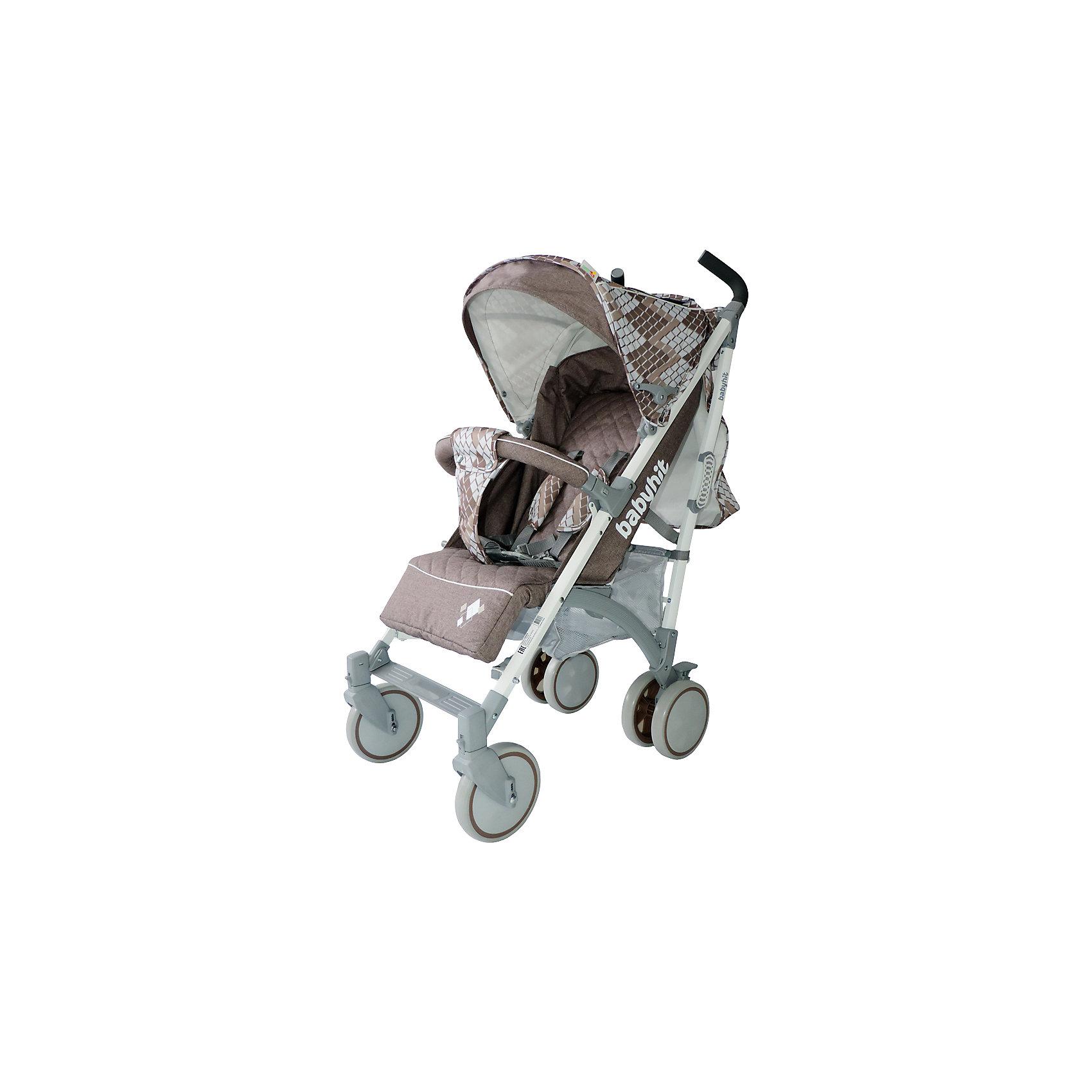 Коляска-трость Rainbow, Baby Hit, бежевыйДополнительная информация:<br><br>Спинка сиденья регулируется в 3-х положениях для комфортного отдыха ребенка.<br>5-ти точечные ремни безопасности с мягкими плечевыми накладками и паховый ремень надежно удержат малыша на прогулке.<br>Бампер предназначен для дополнительной безопасности, снимается при необходимости.<br>Подножка регулируемая.<br>Капюшон-батискаф опускается до бампера.<br>Передние поворотные колеса с возможностью фиксации в положении прямо.<br>Все колеса амортизированы.<br>В сложенном виде коляску легко переносить с помощью удобной ручки.<br>Коляска автоматически блокируется при складывании.<br>Корзинка для покупок расположена в нижней части коляски.<br>Размеры коляски в разложенном виде: 85/43/108 см.<br>Ширина сиденья: 35 см.<br>Высота спинки: 47 см.<br>Глубина сиденья: 25 см.<br>Длина подножки: 13 см.<br>Размер спального места при поднятой подножке - 85 х 35 см.  <br>Диаметр колес: 18 см.<br>Вес коляски - 7,4 кг.<br>В комплекте:<br>Чехол для ножек. <br>Дождевик.<br>Москитная сетка.<br>Корзинка для покупок.<br><br>Коляску-трость Rainbow, Baby Hit, бежевую можно купить в нашем магазине.<br><br>Ширина мм: 260<br>Глубина мм: 250<br>Высота мм: 900<br>Вес г: 8700<br>Возраст от месяцев: 6<br>Возраст до месяцев: 36<br>Пол: Унисекс<br>Возраст: Детский<br>SKU: 4726619