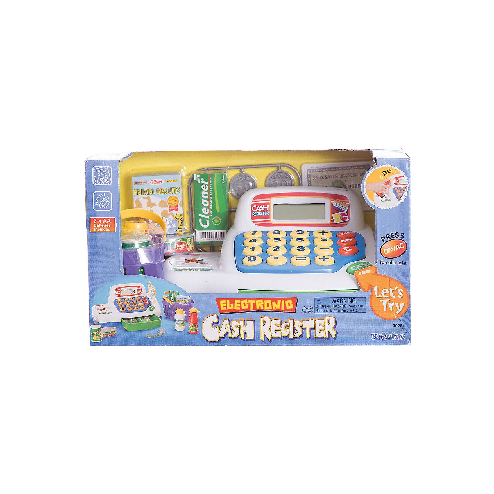 Keenway Набор Кассовый аппарат с предметами, Keenway игровые наборы keenway набор кассовый аппарат
