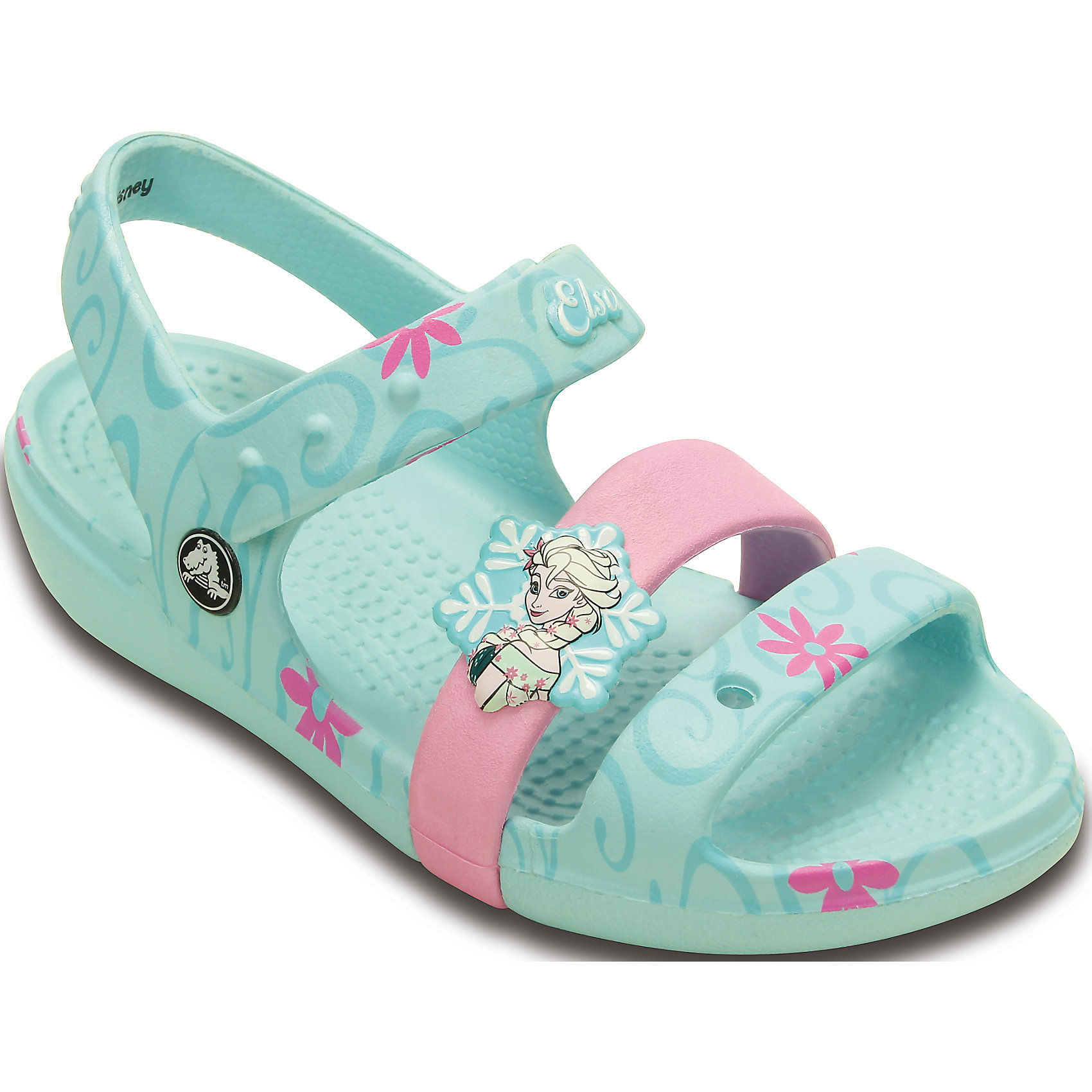 crocs Сандали Keeley Frozen Fever Sandal K для девочки CROCS сандали zaxy сандали