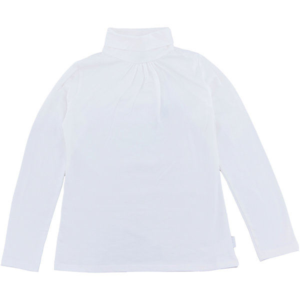 Водолазка для девочки LuminosoВодолазки<br>Водолазка для девочки от известного бренда Luminoso<br>Водолазка для девочек из мягкого трикотажа с воротником «гольф» , декорированная сборкой по горловине.<br>Состав:<br>95% хлопок, 5% эластан<br><br>Ширина мм: 230<br>Глубина мм: 40<br>Высота мм: 220<br>Вес г: 250<br>Цвет: белый<br>Возраст от месяцев: 156<br>Возраст до месяцев: 168<br>Пол: Женский<br>Возраст: Детский<br>Размер: 164,134,128,158,152,146,140<br>SKU: 4728893