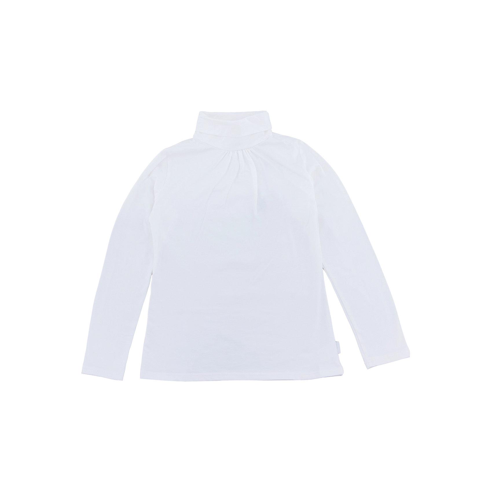 Водолазка для девочки LuminosoВодолазки<br>Водолазка для девочки от известного бренда Luminoso<br>Водолазка для девочек из мягкого трикотажа с воротником «гольф» , декорированная сборкой по горловине.<br>Состав:<br>95% хлопок, 5% эластан<br><br>Ширина мм: 230<br>Глубина мм: 40<br>Высота мм: 220<br>Вес г: 250<br>Цвет: молочный<br>Возраст от месяцев: 120<br>Возраст до месяцев: 132<br>Пол: Женский<br>Возраст: Детский<br>Размер: 146,128,134,140,152,158,164<br>SKU: 4728893