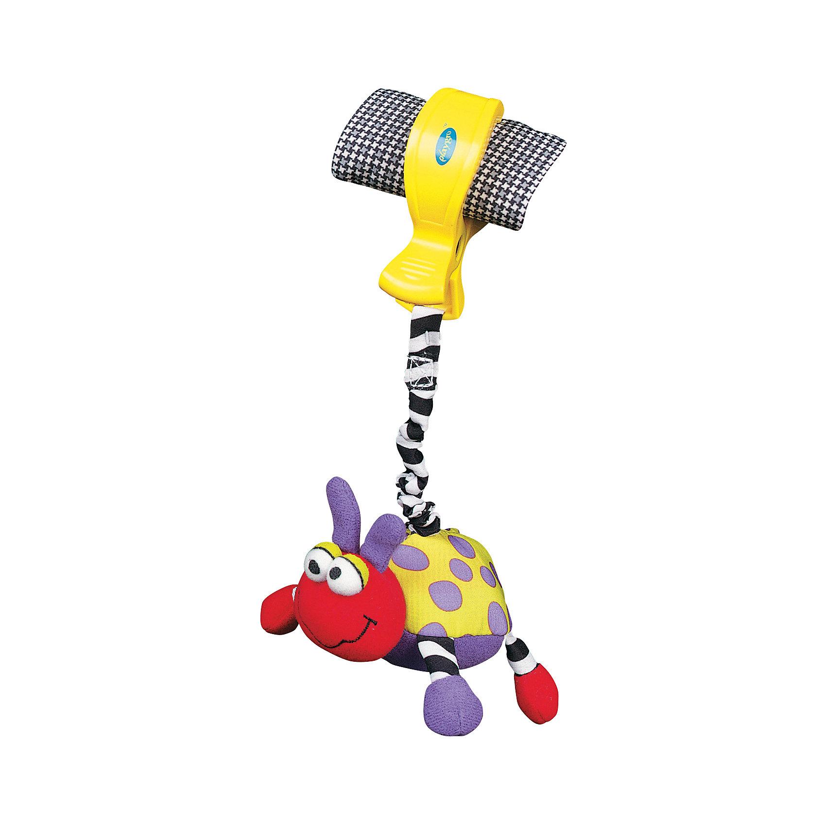 Playgro Игрушка-подвеска Божья коровка, Playgro игрушки подвески playgro игрушка подвеска девочка божья коровка