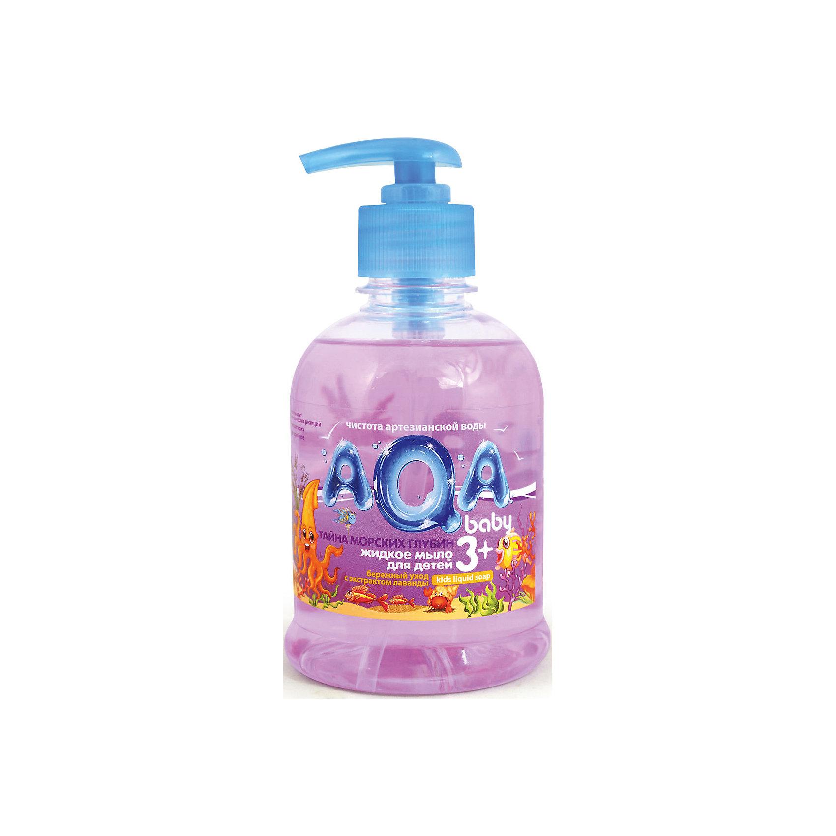 Жидкое мыло Тайна морских глубин, AQA babyКупание малыша<br>Тайна морских глубин с экстрактом Лаванды<br><br>Для ежедневной гигиены на основе воды из артезианского источника<br>Не сушит кожу, с провитамином В5<br>Без парабенов<br>Гипоаллергенно<br>Объём: 300 мл<br><br>Ширина мм: 150<br>Глубина мм: 100<br>Высота мм: 80<br>Вес г: 80<br>Возраст от месяцев: 3<br>Возраст до месяцев: 36<br>Пол: Унисекс<br>Возраст: Детский<br>SKU: 4729826