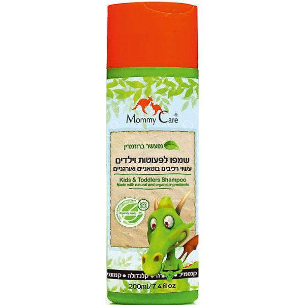 Натуральный шампунь, Mommy Care, 200 мл.Детские шампуни<br>Шампунь для ежедневного применения бережно и нежно очищает детские волосы и кожу головы.<br>Масла кокоса и розмарина укрепляют и придают блеск волосам, а масло ши делает их более эластичными и питают корни волос.<br>Алоэ и оливковое масло стимулируют рост волос и предотвращают сухость кожи головы.<br>Не содержит химических компонентов, парабенов, фталатов и SLS.<br><br>Ширина мм: 143<br>Глубина мм: 500<br>Высота мм: 60<br>Вес г: 300<br>Возраст от месяцев: -2147483648<br>Возраст до месяцев: 2147483647<br>Пол: Унисекс<br>Возраст: Детский<br>SKU: 4729834