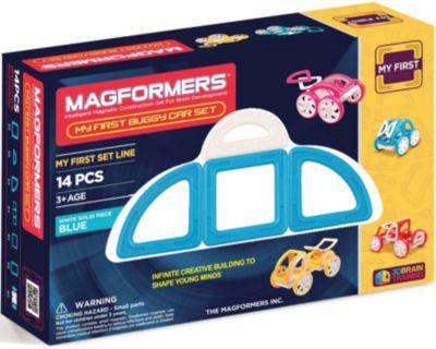 Магнитный конструктор My First Buggy , желтый, MAGFORMERS