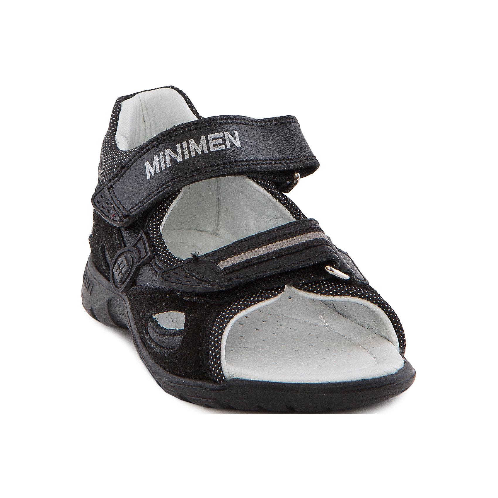 Minimen Сандалии для мальчика Minimen minimen minimen мокасины для мальчика коричневые