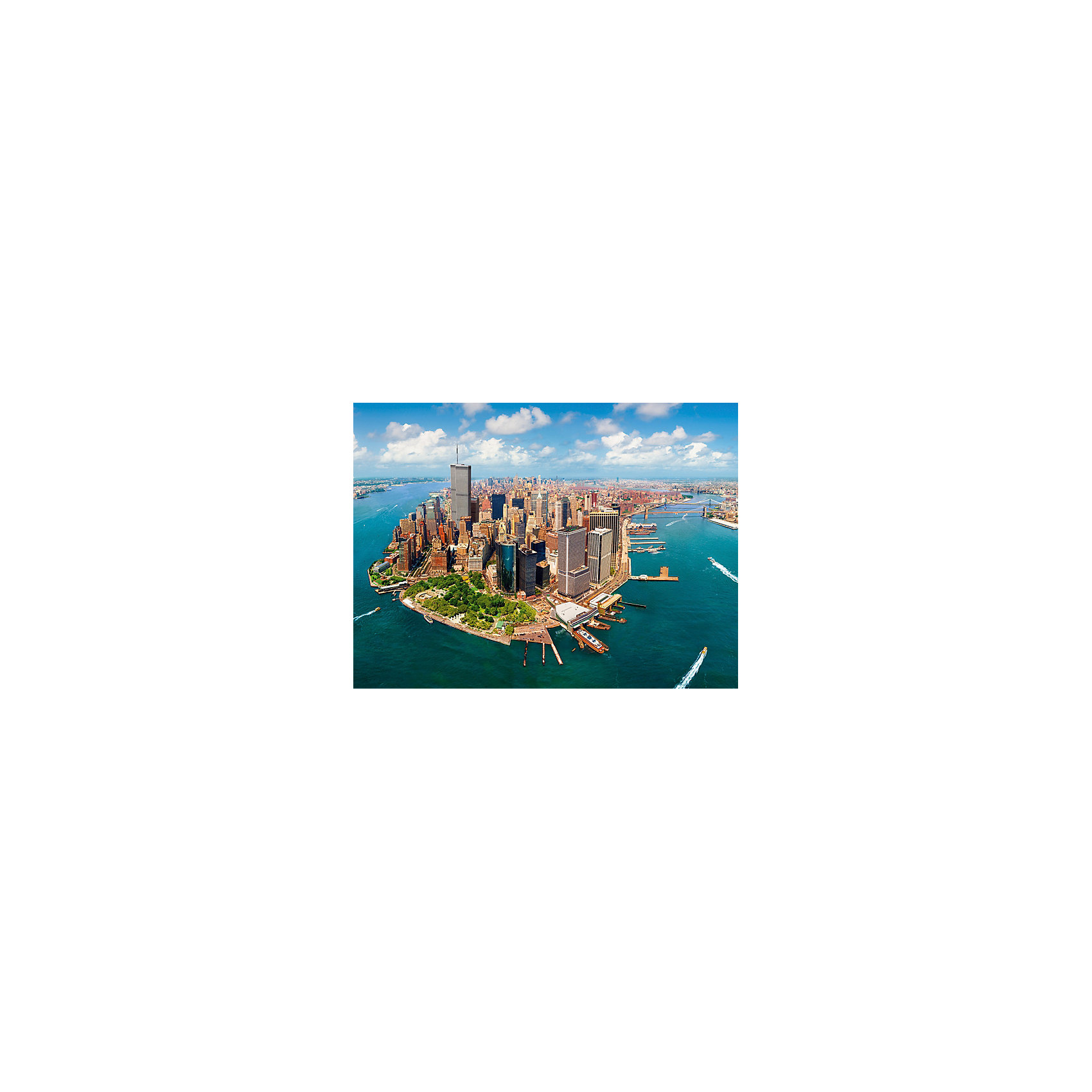 Castorland Пазл Манхэттен до 11.09.2001, 2000 деталей, Castorland пазл 2000 продуктовая лавка 17128