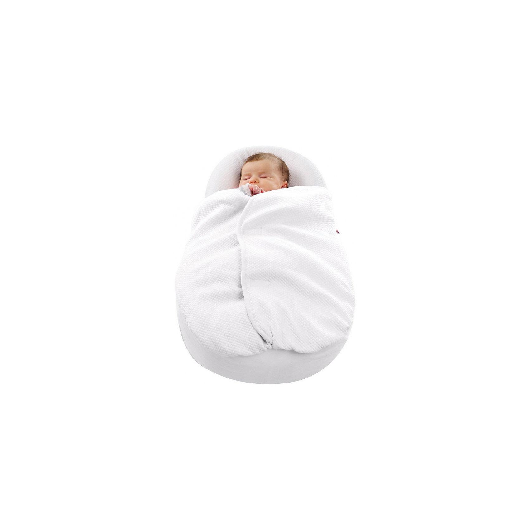Одеяло для Cocoonababy®, Red Castle, белыйС первых дней жизни здоровье малыша напрямую зависит от полноценного и комфортного сна. Это одеяло разработано специально для малышей. Одеяло идеально подойдет для эргономического матрасика Cocoonababy S3. Оно изготовлено из натурального высококачественного фирменного хлопка Fleur de Coton, который приятен на ощупь и не вызывает аллергии. Он отлично впитывает влагу и так же быстро отдает ее окружающей среде, обладает прекрасными вентиляционными свойствами. <br>Одеяло легко закрепляется и снимается, что позволяет содержать детское спальное место в идеальной чистоте. Допускается стирать в стиральной машине. Материалы подобраны специально для малышей. Они безопасны для ребенка и соответствуют всем современным стандартам.<br><br>Дополнительная информация:<br><br>материал: хлопок, полиэстер;<br>цвет: белый;<br>длина - 550 см.<br><br>Одеяло для Cocoonababy® от компании Red Castle можно купить в нашем магазине.<br><br>Ширина мм: 51<br>Глубина мм: 150<br>Высота мм: 280<br>Вес г: 280<br>Возраст от месяцев: 0<br>Возраст до месяцев: 4<br>Пол: Унисекс<br>Возраст: Детский<br>SKU: 4731997