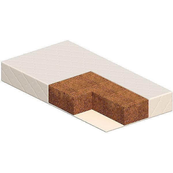 Матрас Перуджа 120х60, VikalexДетские матрасы<br>Матрас Перуджа 120х60, Vikalex (Викалекс) – это двухсторонний матрас одинаковой степени жесткости на основе кокосового волокна (8 слоев).<br>Жесткий матрас Перуджа от Vikalex (Викалекс) подарит комфортный и здоровый отдых вашему малышу и обеспечит максимально правильное положение ребенка во время сна. Жесткая кокосовая койра формирует правильную осанку ребенка, кроме того она известна эластичностью, прочностью и долговечностью. Помимо этого, кокосовые матрацы гипоалергенны, влагоустойчивы (кокосовая койра не впитывает воду) и воздухопроницаемы. Матрас обладает ортопедическими свойствами. Двусторонний матрас Перуджа, с одинаковой жесткостью сторон идеально подходит для детских кроваток, выполнен из безопасных материалов и соответствует необходимым стандартам качества.<br><br>Дополнительная информация:<br><br>- Размер: 120х60 см.<br>- Высота: 11 см.<br>- Цвет: белый<br>- Стеганый чехол из бязи на молнии (100% хлопок)<br>- Внутри: нетканый материал Airotek, латексированная кокосовая койра (из 8 слоев)<br>- Сертификаты: Европейский сертификат соответствия СЕ ,Сертификат РСТ<br>- Вес в упаковке: 8,6 кг.<br><br>Матрас Перуджа 120х60, Vikalex (Викалекс) можно купить в нашем интернет-магазине.<br><br>Ширина мм: 1200<br>Глубина мм: 600<br>Высота мм: 120<br>Вес г: 8600<br>Возраст от месяцев: 0<br>Возраст до месяцев: 36<br>Пол: Унисекс<br>Возраст: Детский<br>SKU: 4732631
