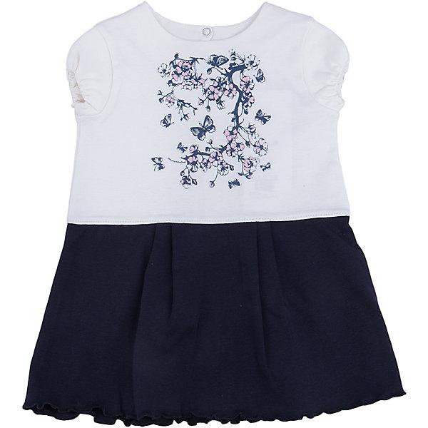 Платье для девочки МамуляндияПлатья<br>Платье с короткими рукавами из трикотажноготна высшего качества (интерлок пенье). Украшен гипоаллергенным принтом на водной основе, удобное расположение кнопок для переодевания малыша.<br>Состав 100% хлопок. <br>Рекомендации по уходу: стирать при 40 С, гладить при средней температуре, носить с удовольствием.  100% хлопок<br><br>Ширина мм: 157<br>Глубина мм: 13<br>Высота мм: 119<br>Вес г: 200<br>Цвет: белый<br>Возраст от месяцев: 3<br>Возраст до месяцев: 6<br>Пол: Женский<br>Возраст: Детский<br>Размер: 68,92,86,80,74<br>SKU: 4735674