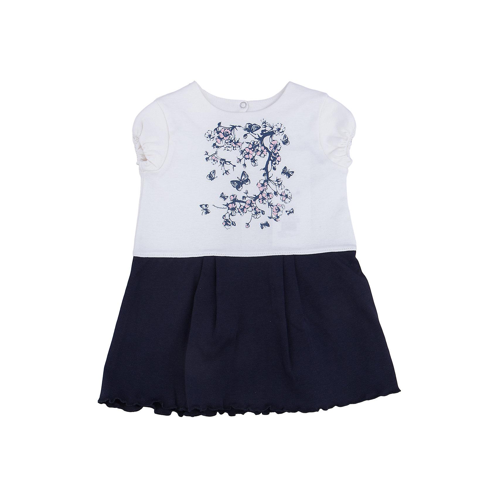 Платье для девочки МамуляндияПлатья<br>Платье с короткими рукавами из трикотажноготна высшего качества (интерлок пенье). Украшен гипоаллергенным принтом на водной основе, удобное расположение кнопок для переодевания малыша.<br>Состав 100% хлопок. <br>Рекомендации по уходу: стирать при 40 С, гладить при средней температуре, носить с удовольствием.  100% хлопок<br><br>Ширина мм: 157<br>Глубина мм: 13<br>Высота мм: 119<br>Вес г: 200<br>Цвет: разноцветный<br>Возраст от месяцев: 18<br>Возраст до месяцев: 24<br>Пол: Женский<br>Возраст: Детский<br>Размер: 92,68,74,80,86<br>SKU: 4735674