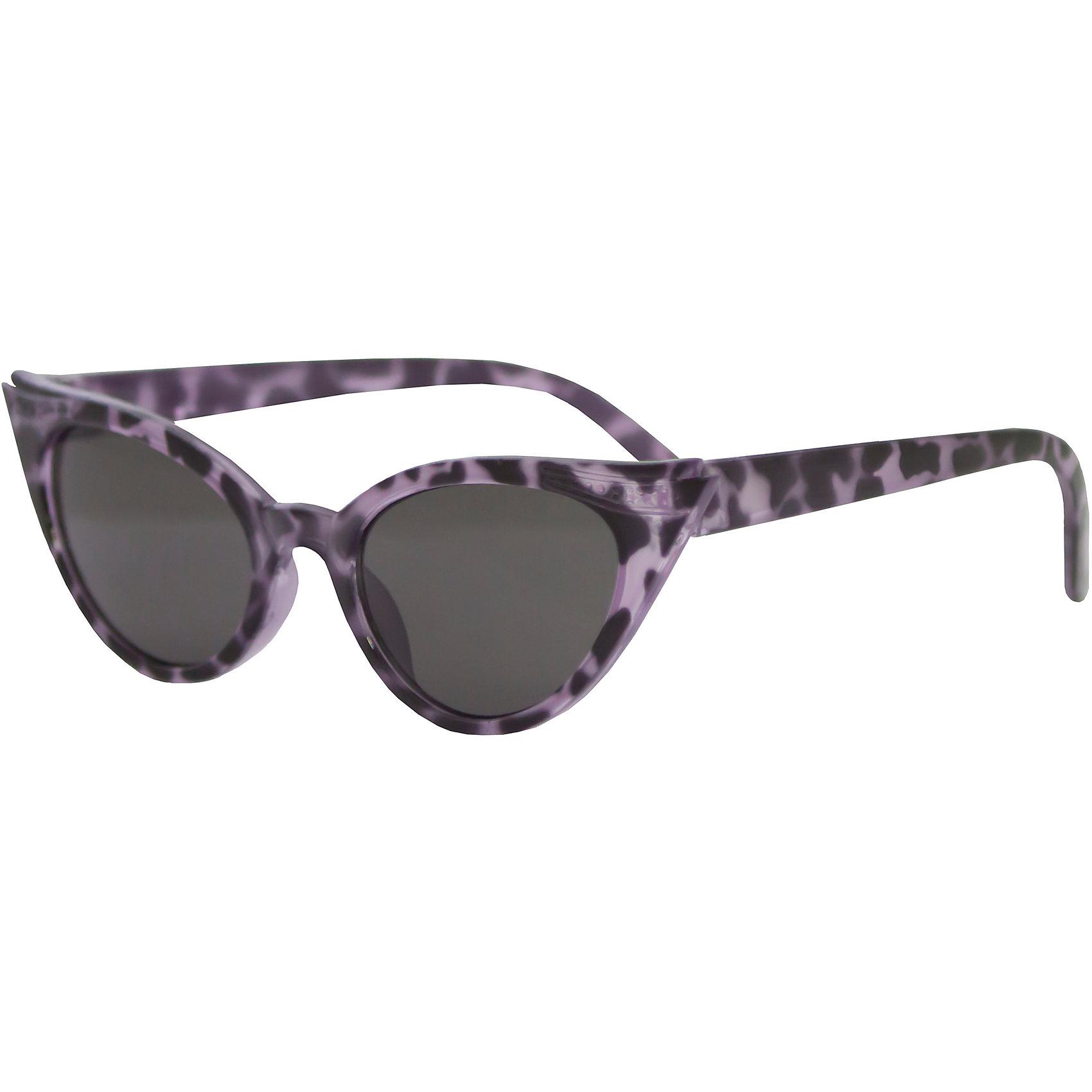 Солнцезащитные очки CaramellaСтильные солнцезащитные очки «Кошечка» ТМ «Caramella» в форме кошачьих глаз – это ультрамодный и полезный аксессуар для маленькой модницы. Их пластиковые линзы надежно защищают глаза от коварных ультрафиолетовых лучей, особенно опасных для детских нежных хрусталиков. Удобные дужки комфортно прилегают к голове и почти не ощущаются. Аксессуар изготовлен из пластика, расстояние между дужками на внутренней части очков – 120 мм. Товар произведен в Тайване. Имеется сертификат качества и протокол испытания линз.<br><br>Ширина мм: 170<br>Глубина мм: 157<br>Высота мм: 67<br>Вес г: 117<br>Возраст от месяцев: 36<br>Возраст до месяцев: 2147483647<br>Пол: Женский<br>Возраст: Детский<br>SKU: 4738340