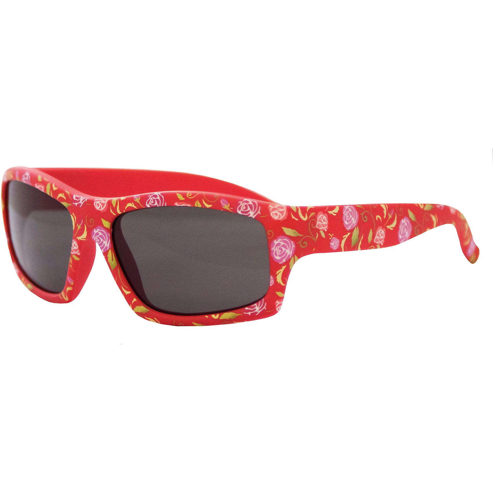 Солнцезащитные очки CaramellaКрасные солнцезащитные очки «Caramella» с розами – это ультрамодный и полезный аксессуар для маленькой модницы. Их пластиковые линзы надежно защищают глаза от коварных ультрафиолетовых лучей, особенно опасных для детских нежных хрусталиков. Удобные дужки комфортно прилегают к голове и почти не ощущаются. Аксессуар изготовлен из пластика, расстояние между дужками на внутренней части очков – 110 мм. Товар произведен в Тайване. Имеется сертификат качества и протокол испытания линз.<br><br>Ширина мм: 170<br>Глубина мм: 157<br>Высота мм: 67<br>Вес г: 117<br>Возраст от месяцев: 36<br>Возраст до месяцев: 2147483647<br>Пол: Женский<br>Возраст: Детский<br>SKU: 4738342