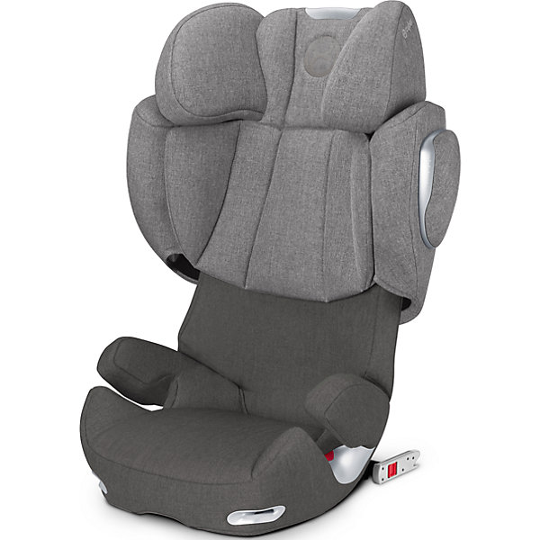 Автокресло Cybex Solution Q2-fix Plus, 15-36 кг, Manhattan Grey