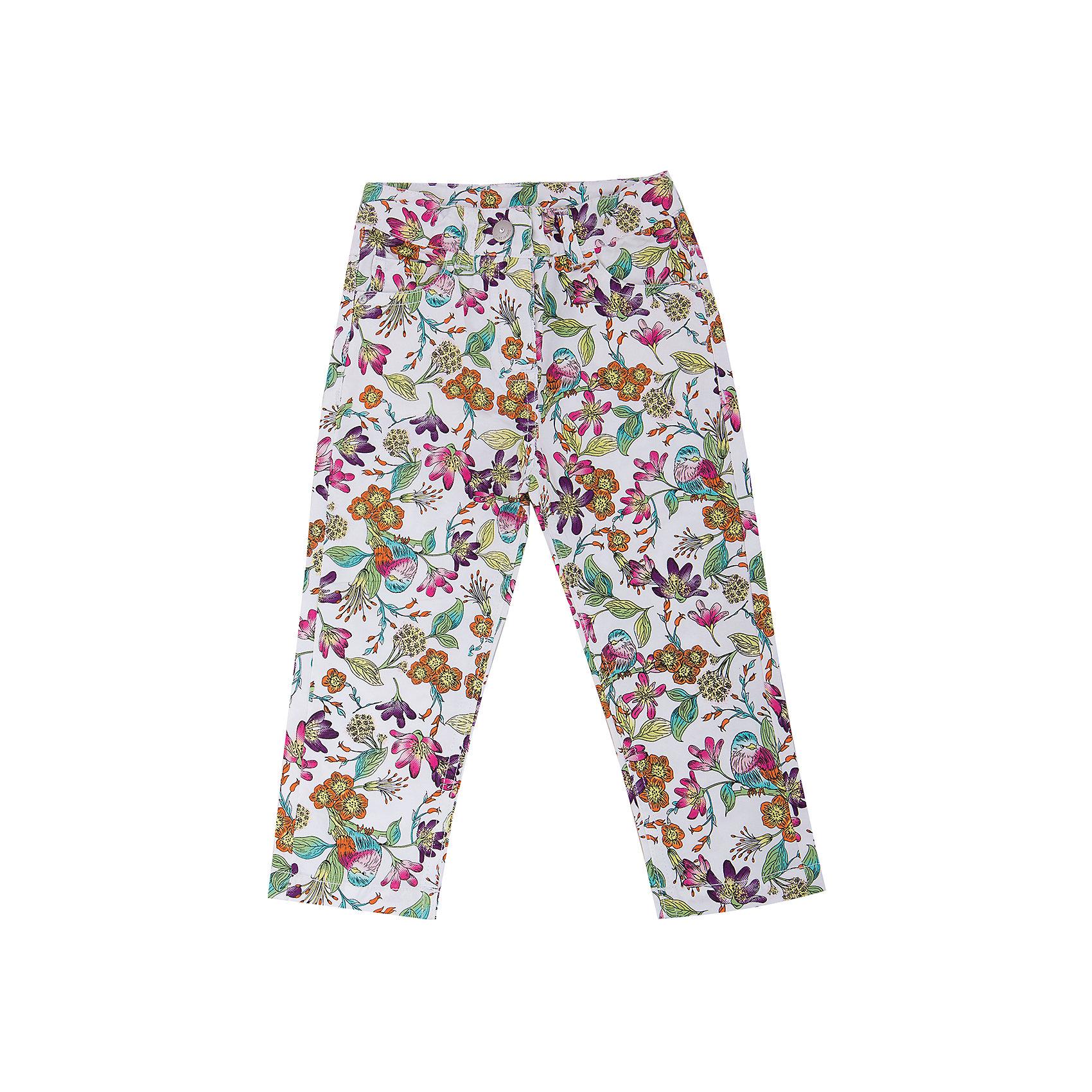 Брюки для девочки Sweet BerryБрюки для девочки от известного бренда Sweet Berry<br>Яркие принтованные летние брюки на девочку, из тонкого твила.. Четыре функциональных кармана, пояс регулируется внутренней резинкой.<br>Состав:<br>98% хлопок,2% эластан<br><br>Ширина мм: 215<br>Глубина мм: 88<br>Высота мм: 191<br>Вес г: 336<br>Цвет: разноцветный<br>Возраст от месяцев: 24<br>Возраст до месяцев: 36<br>Пол: Женский<br>Возраст: Детский<br>Размер: 98,80,86,92<br>SKU: 4739507