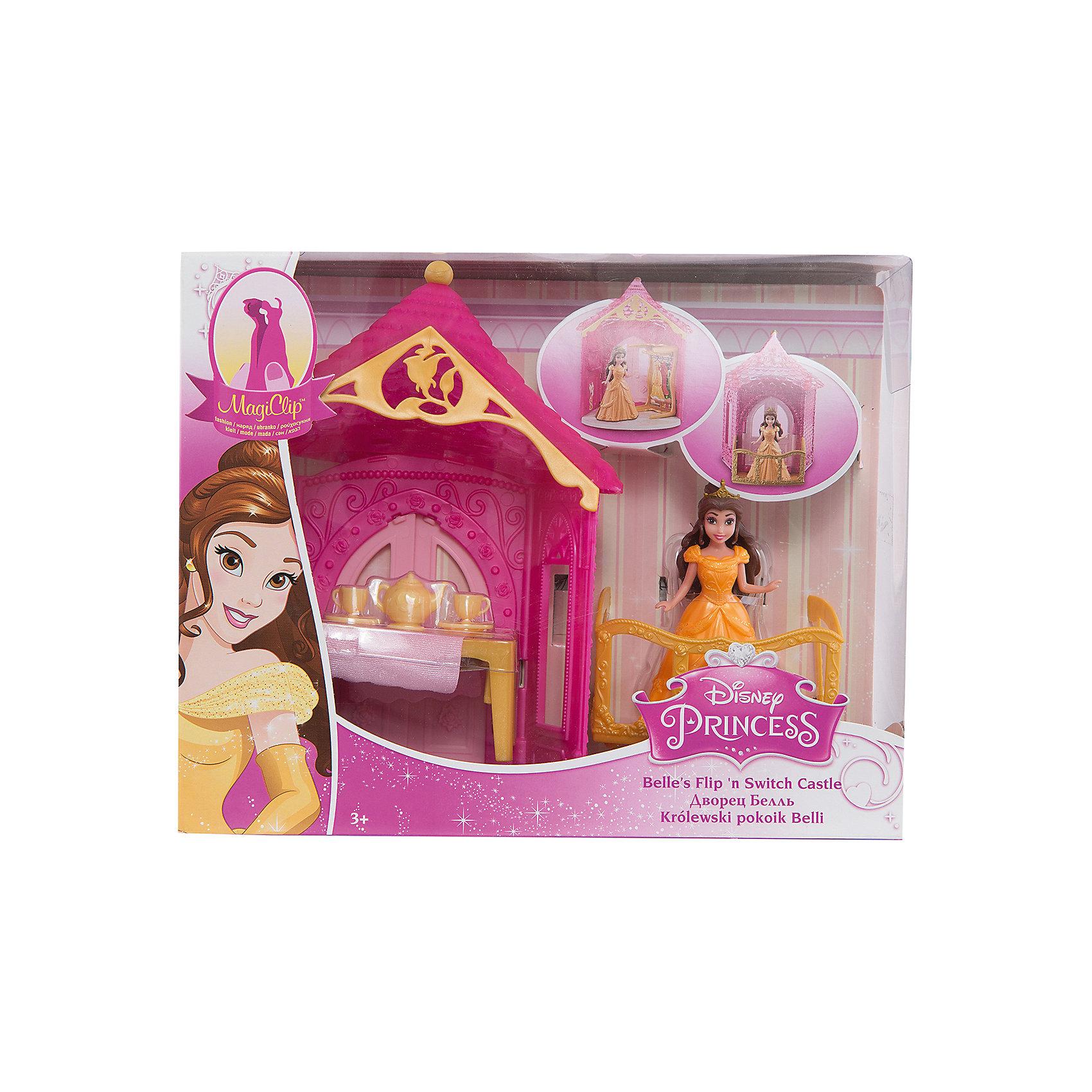 Набор Комната принцессы Бэлль, с куклой и аксессуарами, Disney PrincessМини-куклы<br><br><br>Ширина мм: 205<br>Глубина мм: 80<br>Высота мм: 250<br>Вес г: 398<br>Возраст от месяцев: 36<br>Возраст до месяцев: 144<br>Пол: Женский<br>Возраст: Детский<br>SKU: 4739607
