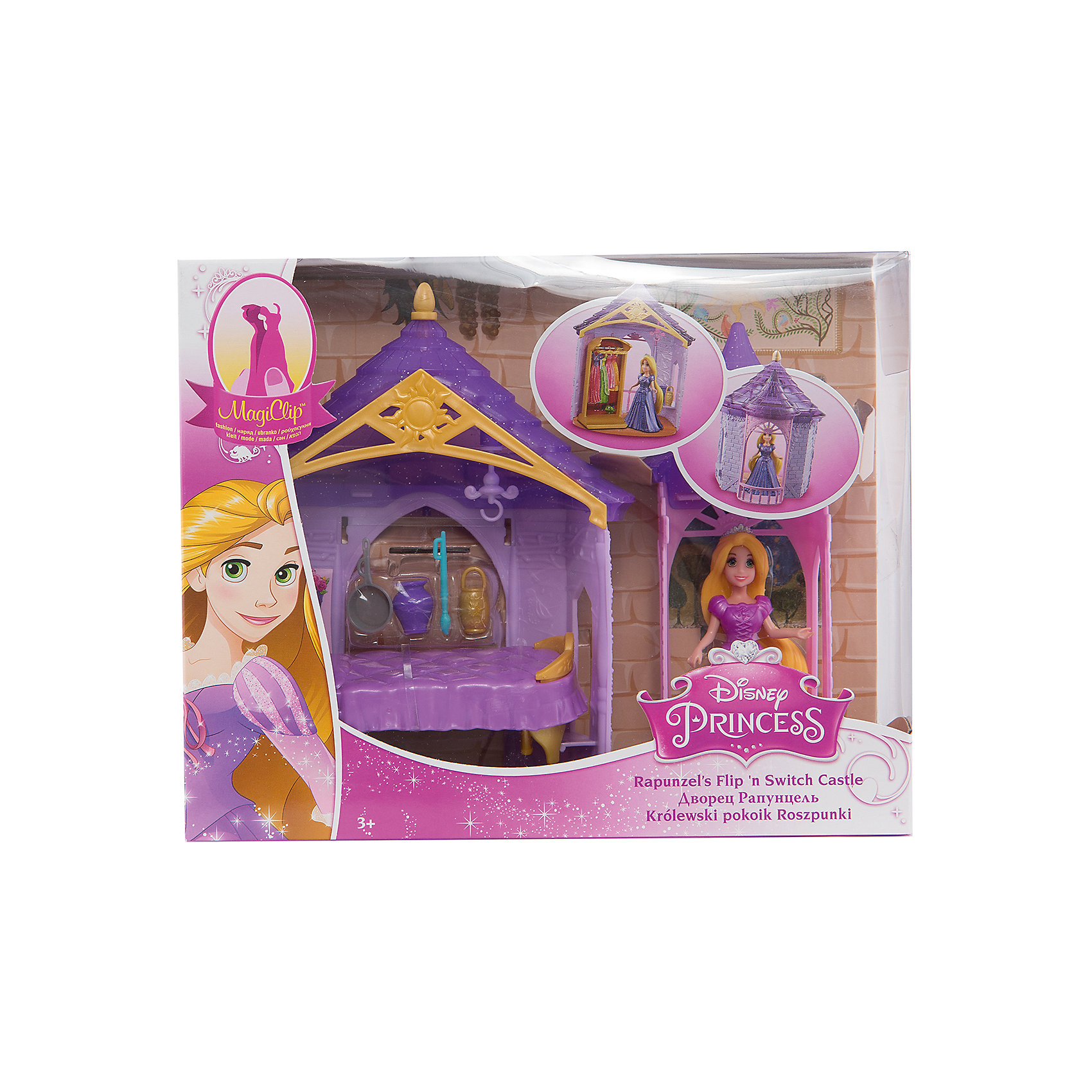 Mattel Набор Комната принцессы Рапунцель, с куклой и аксессуарами, Disney Princess mattel принцесса c домиком и аксессуарами принцессы дисней