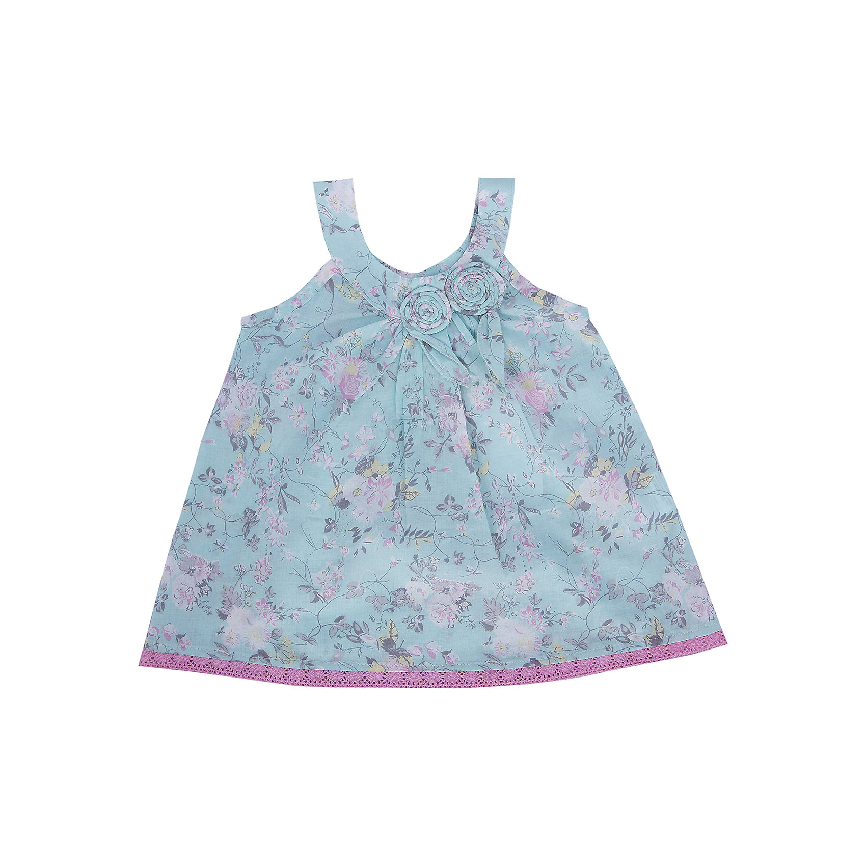 Блузка для девочки SELAБлузка от известной марки SELА поможет разнообразить летний гардероб девочки, создать нарядный или повседневный образ. Удобный крой и качественный материал обеспечат ребенку комфорт при ношении этой вещи. <br>Горловина изделия - круглая, украшена текстильными цветами. Силуэт - стильный,  расширенный к низу. Приятная на ощупь ткань не вызывает аллергии. Изделие украшено стильным принтом.<br><br>Дополнительная информация:<br><br>материал: 100% хлопок;<br>цвет: разноцветный;<br>без рукава;<br>силуэт расширенный к низу;<br>уход за изделием: стирка в машине при температуре до 30°С, не отбеливать, гладить при низкой температуре.<br><br>Блузку от бренда SELА (Села) можно купить в нашем магазине.<br><br>Ширина мм: 186<br>Глубина мм: 87<br>Высота мм: 198<br>Вес г: 197<br>Цвет: зеленый<br>Возраст от месяцев: 60<br>Возраст до месяцев: 72<br>Пол: Женский<br>Возраст: Детский<br>Размер: 116,92,98,104,110<br>SKU: 4741069