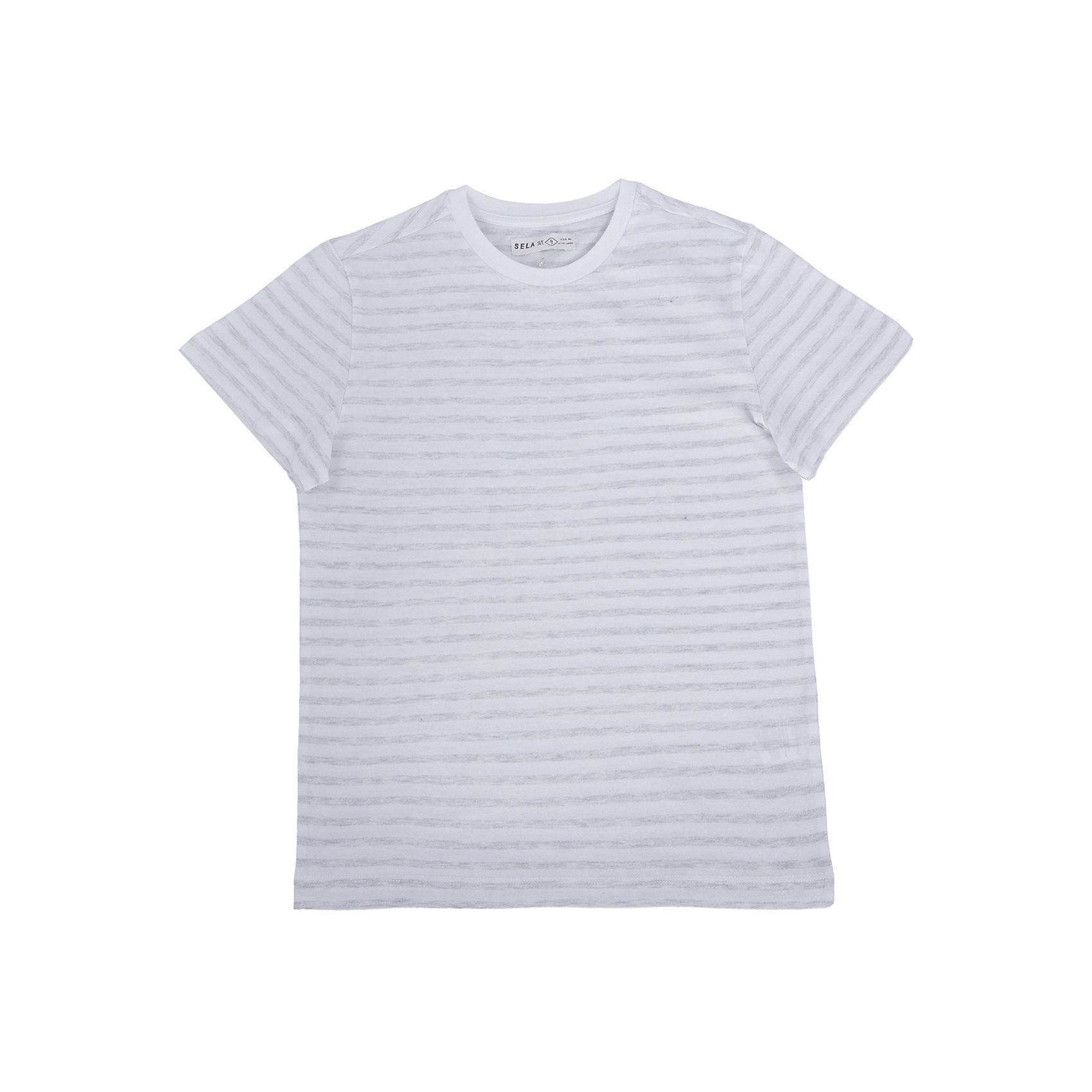 SELA Футболка для мальчика SELA trybeyond футболка для мальчика 999 74498 00 40z серый trybeyond