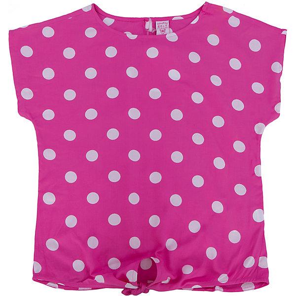 Футболка для девочки SELAФутболки, поло и топы<br>Футболка от известной марки SELА поможет разнообразить летний гардероб девочки, создать нарядный или повседневный образ. Удобный крой и качественный материал обеспечат ребенку комфорт при ношении этой вещи. <br>Горловина изделия - круглая, широкая, на фигуре остается спущенным одно плечо. Силуэт - стильный,  свободный. Приятная на ощупь ткань не вызывает аллергии.<br><br>Дополнительная информация:<br><br>материал: 100% вискоза;<br>цвет: розовый;<br>длина укороченная;<br>рукав спущенное плечо;<br>силуэт свободный;<br>уход за изделием: стирка в машине при температуре до 30°С, не отбеливать, гладить при низкой температуре.<br><br>Блузку от бренда SELА (Села) можно купить в нашем магазине.<br><br>Ширина мм: 186<br>Глубина мм: 87<br>Высота мм: 198<br>Вес г: 197<br>Цвет: розовый<br>Возраст от месяцев: 60<br>Возраст до месяцев: 72<br>Пол: Женский<br>Возраст: Детский<br>Размер: 116,152,146,140,134,128,122<br>SKU: 4741563