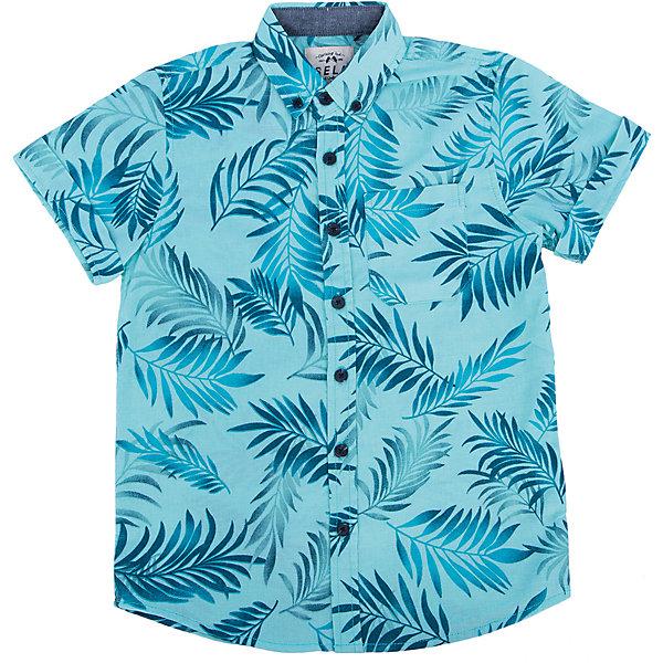 Рубашка для мальчика SELAБлузки и рубашки<br>Модная рубашка от известной марки SELА поможет разнообразить летний гардероб мальчика, создать легкий подходящий погоде ансамбль. Удобный крой и качественный материал обеспечат ребенку комфорт при ношении этой вещи. <br>Смотрится очень модно и нарядно. Материал содержит  натуральный хлопок, дышащий и гипоаллергенный. <br><br>Дополнительная информация:<br><br>материал: 55% лён, 45% хлопок;<br>цвет: ментоловый;<br>короткие рукава;<br>прямой силуэт;<br>уход за изделием: стирка в машине при температуре до 30°С, не отбеливать, гладить при низкой температуре.<br><br>Рубашку  от бренда SELА (Села) можно купить в нашем магазине.<br>Ширина мм: 174; Глубина мм: 10; Высота мм: 169; Вес г: 157; Цвет: зеленый; Возраст от месяцев: 132; Возраст до месяцев: 144; Пол: Мужской; Возраст: Детский; Размер: 152,146,116,122,128,134,140; SKU: 4741703;
