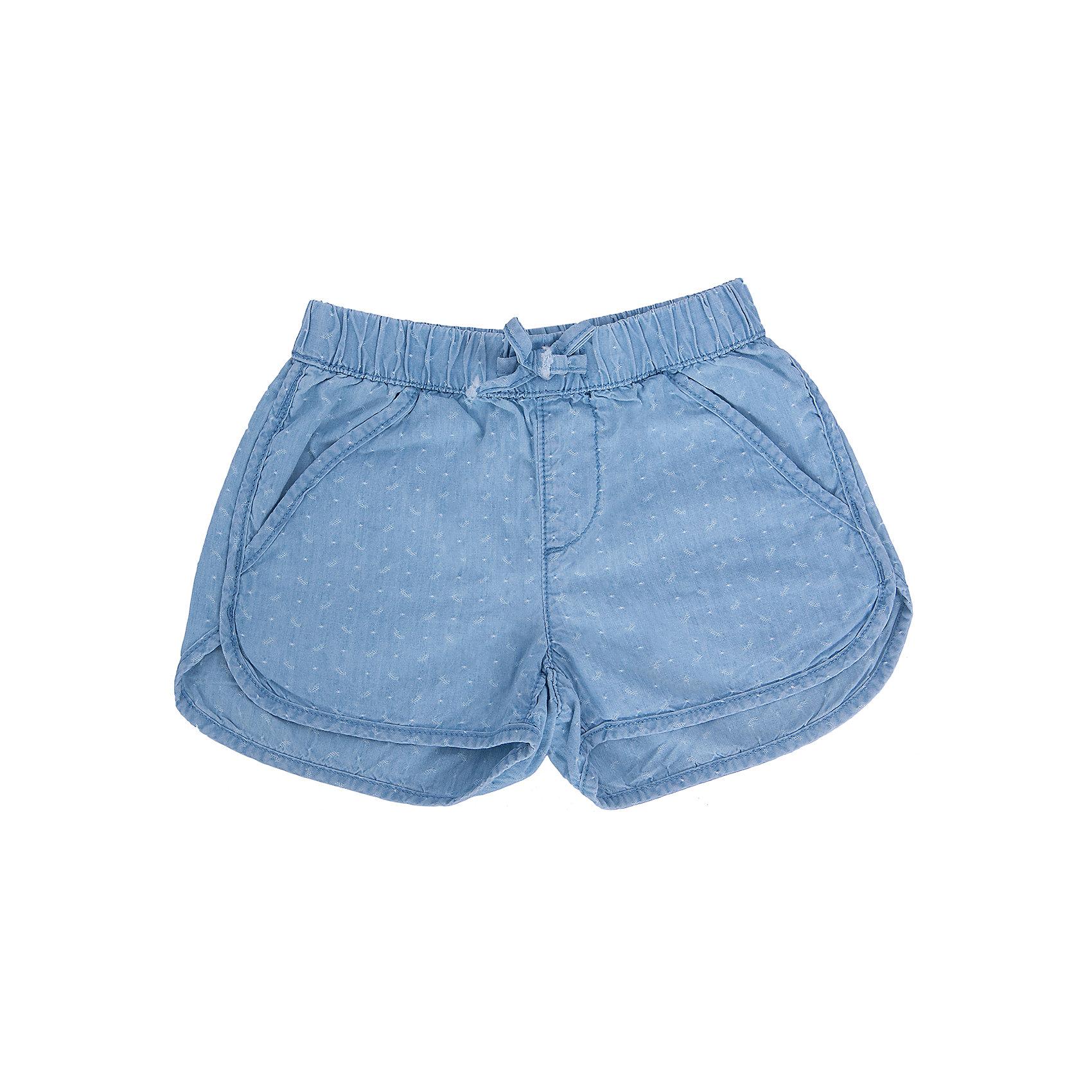 Шорты для девочки SELAШорты, бриджи, капри<br>Очаровательные короткие джинсовые шортики для девочки от популярного бренда SELA. Изделие выполнено из натурального денима, дышащего, мягкого и очень приятного к телу, и обладает следующим особенностями:<br>- цвет голубой джинс;<br>- полуприлегающий фасон;<br>- эластичный пояс;<br>- 2 кармашка по бокам, 1 сзади;<br>- комфортный крой, обеспечивающий свободу движений.<br>Прекрасный выбор для активных игр!<br><br>Дополнительная информация:<br>- состав: 100% хлопок<br>- цвет: голубой джинс<br><br>Шорты для девочки SELA (СЕЛА) можно купить в нашем магазине<br><br>Ширина мм: 191<br>Глубина мм: 10<br>Высота мм: 175<br>Вес г: 273<br>Цвет: голубой<br>Возраст от месяцев: 48<br>Возраст до месяцев: 60<br>Пол: Женский<br>Возраст: Детский<br>Размер: 110,116,98,104,92<br>SKU: 4741871
