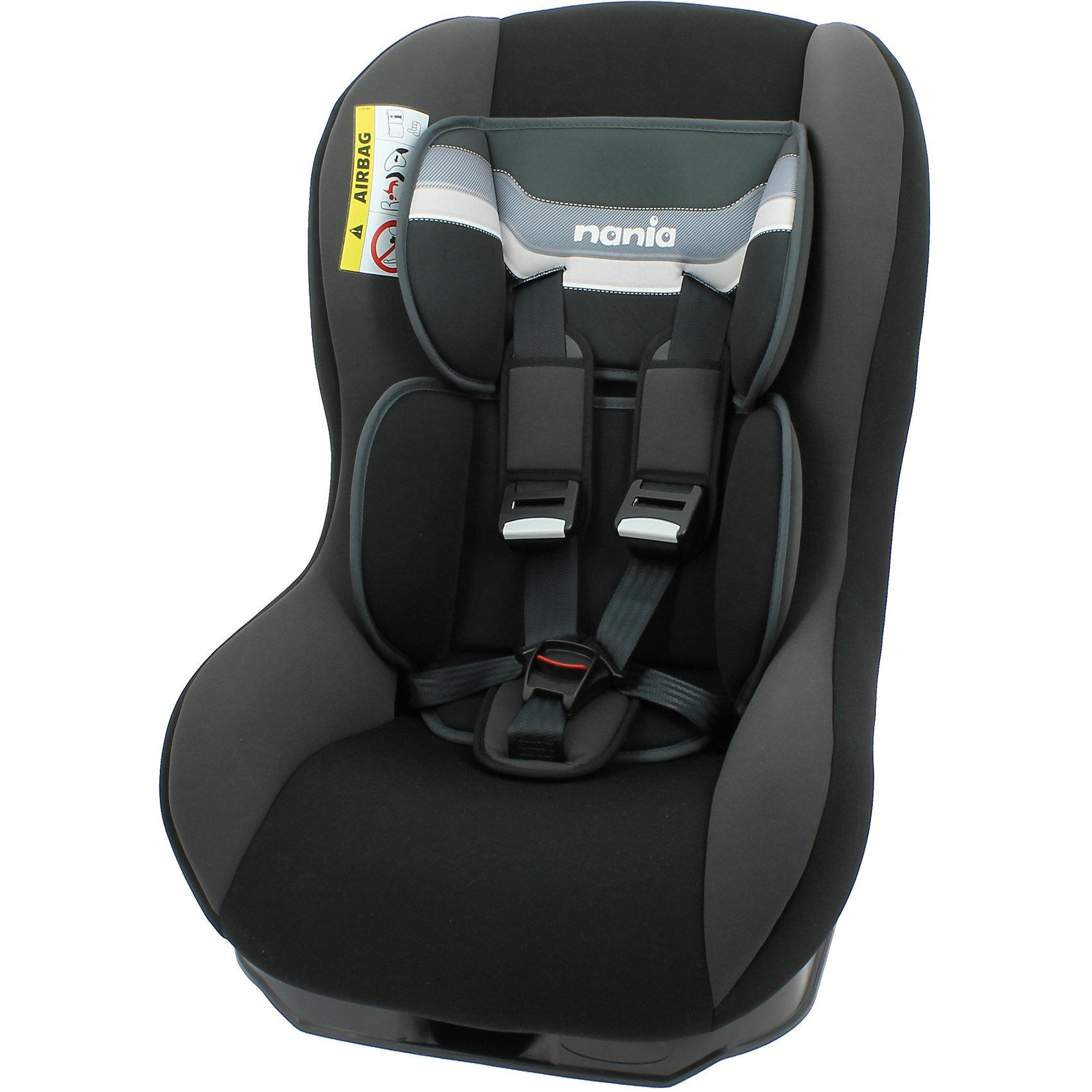 Автокресло Driver FST, 0-18 кг., Nania, horizon blackDriver SP FST<br>Серия: 0/1 (0-18)кг<br>Driver, группа 0-1 (0-18 кг) Вес ребенка от 0 до 18 кг (с рождения и примерно до 4 лет). Прочный каркас анатомической формы из полипропилена. Поглощающая силу удара прослойка из полистирола. Пятиточечные ремни безопасности с 3-мя уровнями регулировки по высоте. Пять положений наклона спинки. Мягкий вкладыш под спину, который позволяет перевозить совсем маленьких детей. Съемное покрытие можно стирать вручную при температуре не выше 30 С.. Устанавливается в автомобилях с 3-х точечными ремнями безопасности: при весе ребенка от 0 до 10 кг кресло устанавливается против движения автомобиля; при весе ребенка от 10 до 18 кг кресло устанавливается по ходу движения. Кресло имеет европейский сертификат безопасности по строжайшим нормам ЕСЕ R44/03.<br><br>Ширина мм: 460<br>Глубина мм: 520<br>Высота мм: 600<br>Вес г: 12490<br>Возраст от месяцев: 0<br>Возраст до месяцев: 48<br>Пол: Унисекс<br>Возраст: Детский<br>SKU: 4743028