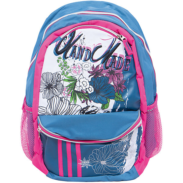 Школьный рюкзак BOO York, Мonster HighРюкзаки<br>Рюкзак Мonster High BOO York с изображением любимых героев мультфильма идеально подходит для похода девочки в школу. Он очень стильно выглядит и может вместить в себя всё необходимое для занятий.<br>В рюкзаке - одно большое основное отделение, также есть два удобных боковых кармана. Изделие дополнено светоотражающими элементами для повышения безопасности ребенка. На рюкзаке - удобные широкие лямки, петля, ручка для переноса. Застегивается на молнию. Изделие произведено из качественных и безопасных для ребенка материалов.<br><br>Дополнительная информация:<br><br>цвет: разноцветный;<br>материал: нейлон, полиэстер;<br>вес: 750 г;<br>широкие лямки;<br>боковые карманы.<br><br>Школьный рюкзак BOO York, Мonster High можно купить в нашем магазине.<br><br>Ширина мм: 170<br>Глубина мм: 315<br>Высота мм: 380<br>Вес г: 750<br>Возраст от месяцев: 72<br>Возраст до месяцев: 144<br>Пол: Женский<br>Возраст: Детский<br>SKU: 4743942
