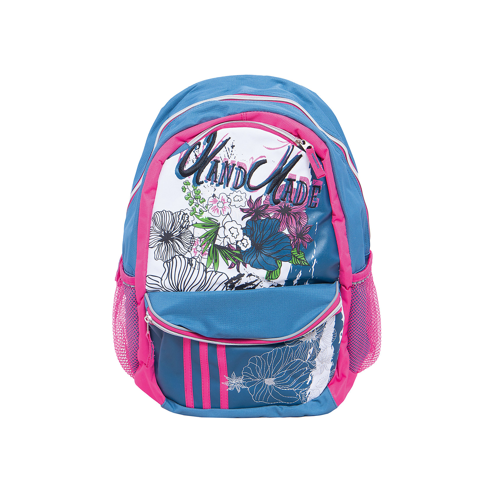 Школьный рюкзак BOO York, Мonster HighШкольные рюкзаки<br>Рюкзак Мonster High BOO York с изображением любимых героев мультфильма идеально подходит для похода девочки в школу. Он очень стильно выглядит и может вместить в себя всё необходимое для занятий.<br>В рюкзаке - одно большое основное отделение, также есть два удобных боковых кармана. Изделие дополнено светоотражающими элементами для повышения безопасности ребенка. На рюкзаке - удобные широкие лямки, петля, ручка для переноса. Застегивается на молнию. Изделие произведено из качественных и безопасных для ребенка материалов.<br><br>Дополнительная информация:<br><br>цвет: разноцветный;<br>материал: нейлон, полиэстер;<br>вес: 750 г;<br>широкие лямки;<br>боковые карманы.<br><br>Школьный рюкзак BOO York, Мonster High можно купить в нашем магазине.<br><br>Ширина мм: 170<br>Глубина мм: 315<br>Высота мм: 380<br>Вес г: 750<br>Возраст от месяцев: 72<br>Возраст до месяцев: 144<br>Пол: Женский<br>Возраст: Детский<br>SKU: 4743942