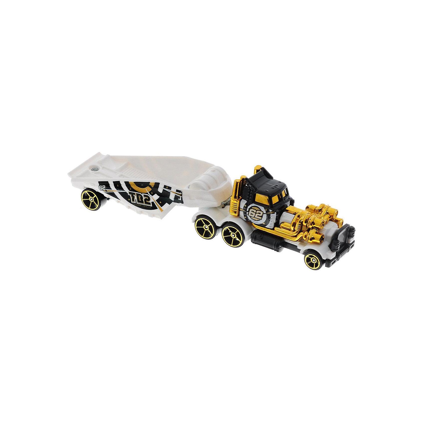 Трейлер базовой коллекции, Hot Wheels«Трейлер» базовой комплектации, Hot Wheels (Хот Вилс) – потрясающе реалистичный грузовик-трейлер, который придется по душе любому мальчишке.  Трейлер выполнен из металла, а значит сможет выдержать любые испытания, которые приготовит для него Ваш ребенок. В трейлерах-грузовиках Hot Wheels (Хот Вилс) есть возможность менять прицепы, что позволяет каждый раз создавать новые комбинации.  <br><br>Дополнительная информация: <br><br>- Материал: пластик <br>- Длина: около 28 см  <br><br>«Трейлер» базовой комплектации, Hot Wheels (Хот Вилс) – прекрасный подарок для Вашего ребенка. Ему непременно захочется собрать всю коллекцию и каждый раз создавать новый вид трейлеров.  <br><br>«Трейлер» базовой комплектации, Hot Wheels (Хот Вилс) можно купить в нашем магазине.<br><br>Ширина мм: 40<br>Глубина мм: 130<br>Высота мм: 110<br>Вес г: 126<br>Возраст от месяцев: 48<br>Возраст до месяцев: 96<br>Пол: Мужской<br>Возраст: Детский<br>SKU: 4744530