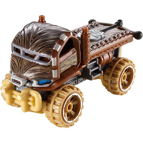 Машинка Звездные войны, Hot WheelsПопулярные игрушки<br>Любой мальчишка будет рад такой яркой и стремительной машинке! Игрушка выполнена в стилистике культовой саги Звездные войны, изготовлена из прочных и безопасных для детей материалов. Собери всю коллекцию Hot Wheels  и устрой настоящие межгалактические гонки.  Дополнительная информация:  - Материал: пластик, металл. - Размер: 14 х 4 х 16,5 см.  Машинку Звездные войны, Hot Wheels (Хот Вилс), можно купить в нашем магазине.<br><br>Ширина мм: 140<br>Глубина мм: 165<br>Высота мм: 40<br>Вес г: 69<br>Возраст от месяцев: 36<br>Возраст до месяцев: 84<br>Пол: Мужской<br>Возраст: Детский<br>SKU: 4744546