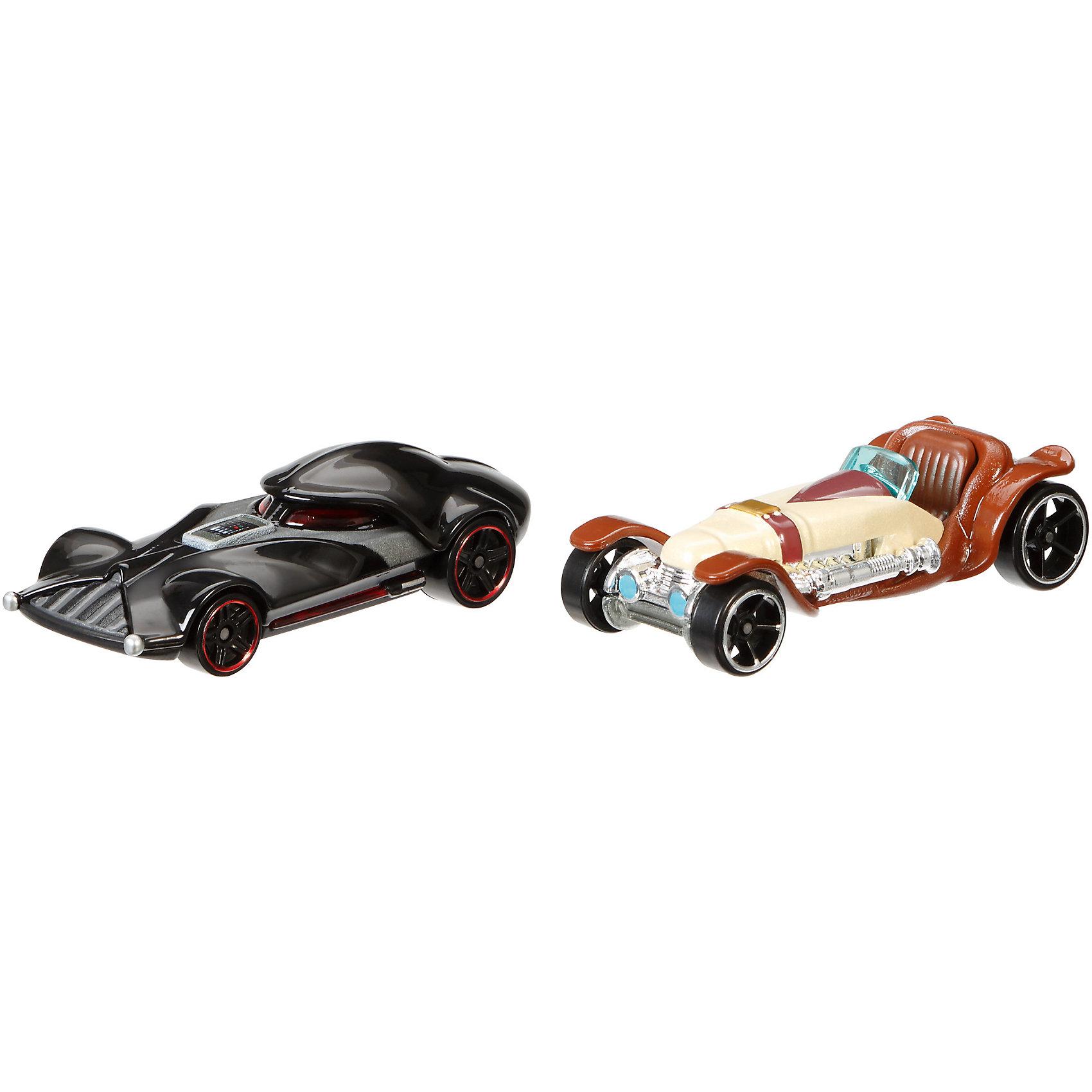 Набор из 2-х машинок Звездные войны, Hot WheelsМашинки<br>Базовые машинки Star Wars, Hot Wheels (Хот Вилс) – этот набор порадует юного автолюбителя и поклонника межгалактических приключений. В этом наборе от Хот Вилс любимые миллионами персонажи «Звездных войн» робот C-3PO и астродроид R2D2 предстают в виде машинок. Несмотря на то, что их внешний вид в фильмах нисколько не походил на машины, каждый персонаж прекрасно узнаваем по цветам и характерным деталям, которые перешли от героев в дизайн автомобилей. Машинки понравятся поклонникам всех возрастов: соберите полную коллекцию и устраивайте гонки по всей галактике!  <br><br>Дополнительная информация:  <br>- В комплекте: 2 машины <br>- Масштаб: 1:64 <br>- Материал: пластик, металл <br>- Упаковка: блистер на картоне <br>- Размер упаковки: 20,3 x 6,4 x 16,5 см.  <br><br>Базовые машинки Star Wars, Hot Wheels (Хот Вилс) можно купить в нашем интернет-магазине.<br><br>Ширина мм: 201<br>Глубина мм: 164<br>Высота мм: 67<br>Вес г: 130<br>Возраст от месяцев: 36<br>Возраст до месяцев: 72<br>Пол: Мужской<br>Возраст: Детский<br>SKU: 4744612