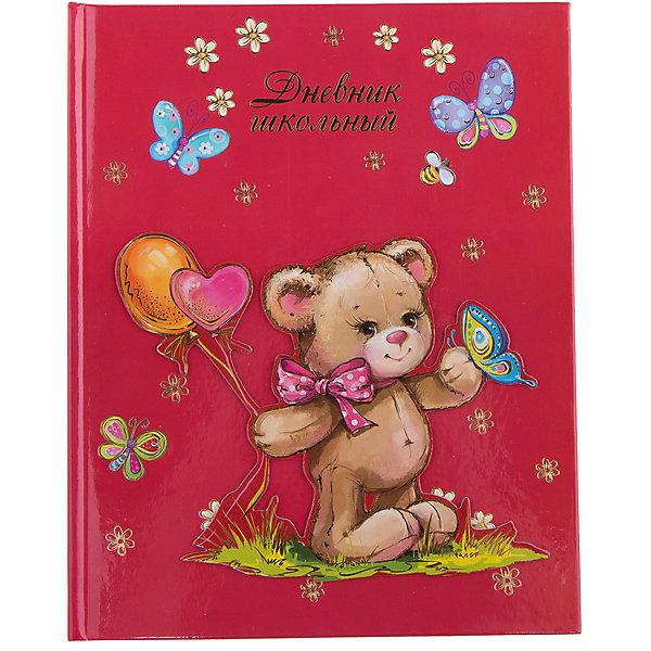 Дневник Мишка с шарикамиБумажная продукция<br>Дневник нужен каждому школьнику. Занятия ребенка в школе всегда требуют приобретения атрибутов для учебы. Так пусть они будут стильными и качественными! Ведь учиться с ними - намного приятней.<br>Школьный дневник Мишка с шариками - стандартного формата А5. Обложка - из плотной бумаги с изображением симпатичного медвежонка. Листы надежно скреплены. Изделие произведено из качественных и безопасных для ребенка материалов.<br><br>Дополнительная информация:<br><br>цвет: разноцветный;<br>формат: А5;<br>материал: бумага.<br><br>Дневник Мишка с шариками можно купить в нашем магазине.<br><br>Ширина мм: 220<br>Глубина мм: 170<br>Высота мм: 10<br>Вес г: 250<br>Возраст от месяцев: 72<br>Возраст до месяцев: 192<br>Пол: Женский<br>Возраст: Детский<br>SKU: 4746253
