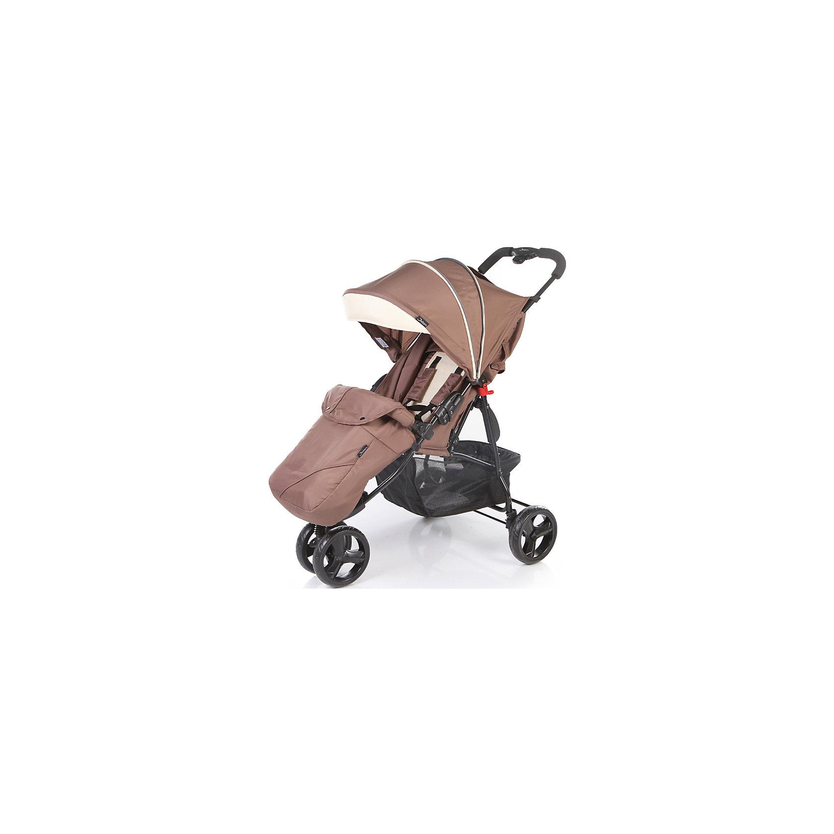 Jetem Прогулочная коляска Mira Lite, Jetem, коричневый/бежевый коляска прогулочная jetem uno brown 16