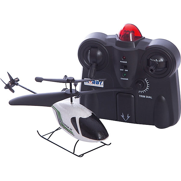 Вертолет на р/у, Hobby EngineРадиоуправляемые вертолёты<br>Вертолет на р/у, Hobby Engine (Хобби Энджин) – это надежная модель, которая подойдёт для начинающих и для авиалюбителей со стажем.<br>Вертолет сделан из легкого пенопласта с элементами пластика. Благодаря четким формам корпуса и соответствующей раскраске, эта модель вертолета максимально приближена к реальным аналогам. Вертолет может взлетать с любых поверхностей, даже с руки, маневрировать и мягко приземляться. Крепкий корпус вертолета обеспечивает его защищенность даже при достаточно сильных ударах, которые возможны при полете или при посадке. Научиться управлять этим вертолетом может каждый, ведь здесь возможна установка режима полетов. Так, вы можете начать с уровня «новичок», а потом по мере тренировок переходить на новые – «средний» и «эксперт». Управление вертолетом возможно даже при удаленности от него на расстоянии восьми метров.<br><br>Дополнительная информация:<br><br>- Инфракрасная система управления: 2 частоты<br>- Время зарядки: 15 мин.<br>- 15 уровней скорости<br>- Время работы 10 мин.<br>- Радиус действия управления: 8 м.<br>- Ударостойкий корпус<br>- Уровень управления: пульт ДУ 2-канальный, 3 уровня управления новичок/средний/эксперт<br>- Элементы питания пульта ДУ: 6 батареек типа «АА» (не входят в комплект)<br>- Размер: 194 х 76 х 41 мм.<br><br>Вертолет на р/у, Hobby Engine (Хобби Энджин) можно купить в нашем интернет-магазине.<br>Ширина мм: 300; Глубина мм: 100; Высота мм: 160; Вес г: 700; Возраст от месяцев: 96; Возраст до месяцев: 192; Пол: Мужской; Возраст: Детский; SKU: 4747477;