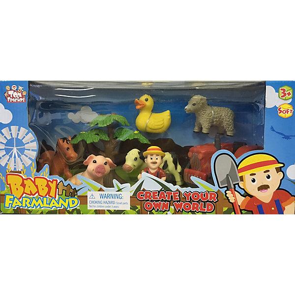 Набор Домашние животные, Toy MajorИгровые наборы с фигурками<br>Набор Домашние животные, Toy Major – этот игровой набор обязательно увлечет вашего ребенка.<br>Набор Домашние животные – это фигурки маленьких домашних животных и деталей деревенской фермы, выполненные из мягкой пластмассы. Фигурки компактные, без подвижных деталей и безопасны для малыша. Познакомьте ребенка с животными фермы расскажите, чем они питаются, какую пользу приносят людям.<br><br>Дополнительная информация:<br><br>- В наборе: трактор, дерево, забор, кормушка, сено, фермер, лошадь, корова, овца, осел, свинья<br>- Материал: мягкий полимер<br>- Размер упаковки: 42х39х10 см.<br><br>Набор Домашние животные, Toy Major можно купить в нашем интернет-магазине.<br><br>Ширина мм: 370<br>Глубина мм: 130<br>Высота мм: 170<br>Вес г: 800<br>Возраст от месяцев: 36<br>Возраст до месяцев: 96<br>Пол: Унисекс<br>Возраст: Детский<br>SKU: 4747488