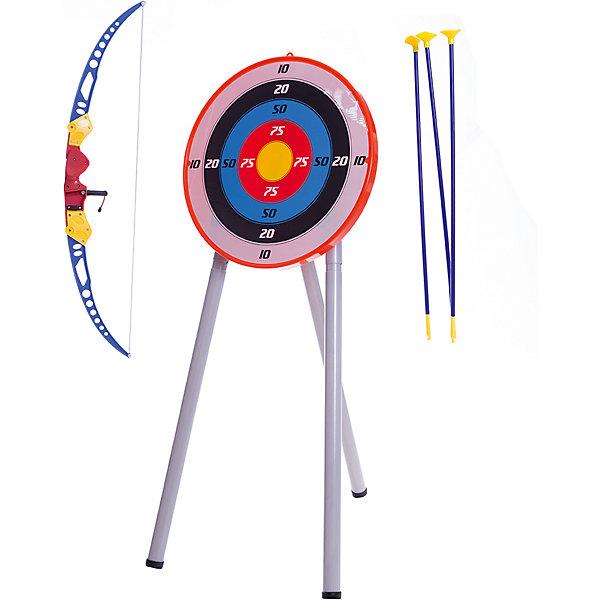 Набор Лук и стрелы с мишенью на треноге , TOY TARGET, Китай, Унисекс  - купить со скидкой