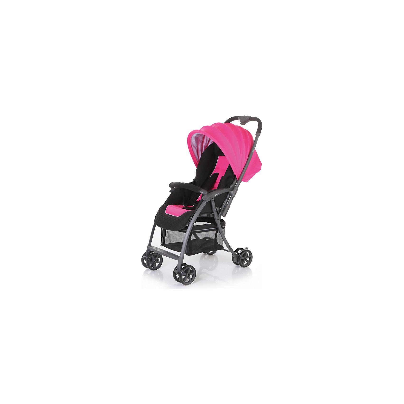 Jetem Прогулочная коляска Uno, Jetem, розовый jetem прогулочная коляска uno jetem розовый
