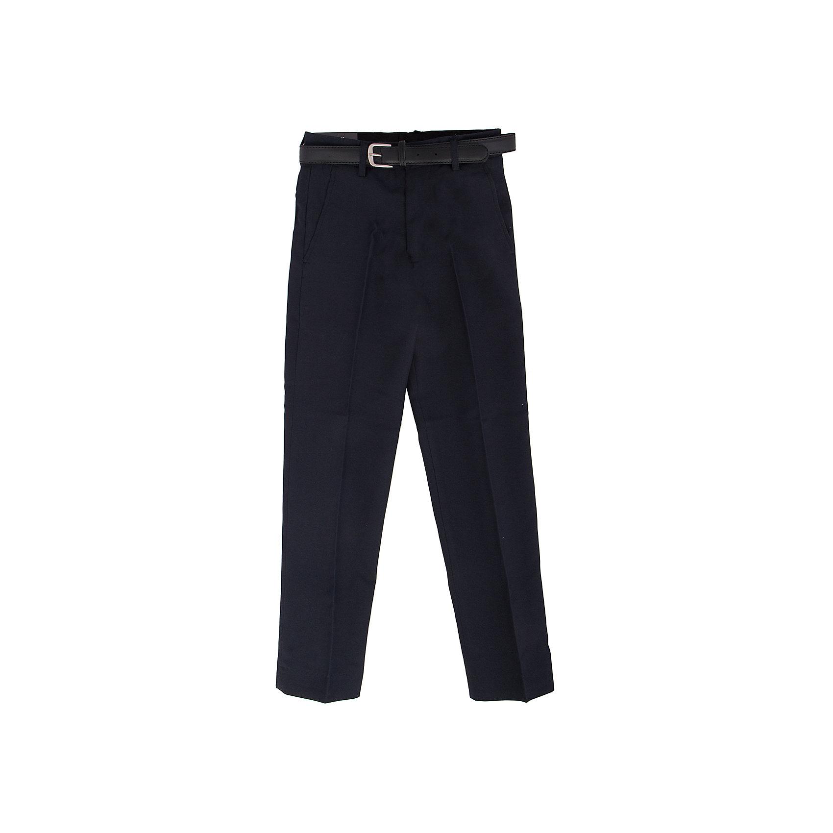 Брюки для мальчика ImperatorУдобные свободные брюки - хороший вариант на каждый день. Состав 60% вискоза, 40% п/э<br><br>Ширина мм: 215<br>Глубина мм: 88<br>Высота мм: 191<br>Вес г: 336<br>Цвет: синий<br>Возраст от месяцев: 156<br>Возраст до месяцев: 168<br>Пол: Мужской<br>Возраст: Детский<br>Размер: 164,128,134,146,152,158<br>SKU: 4749261
