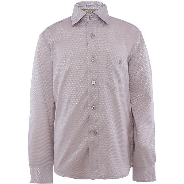 Рубашка для мальчика TsarevichБлузки и рубашки<br>Классическая рубашка - неотьемлемая вещь в гардеробе. Модель на пуговицах, с отложным воротником. Свободный покрой не стеснит движений и позволит чувствовать себя комфортно каждый день.  Состав 65 % хл. 35% П/Э<br>Ширина мм: 174; Глубина мм: 10; Высота мм: 169; Вес г: 157; Цвет: белый; Возраст от месяцев: 132; Возраст до месяцев: 144; Пол: Мужской; Возраст: Детский; Размер: 146/152,164/170,122/128,128/134,134/140,140/146,146/152,152/158,152/158,158/164; SKU: 4749293;