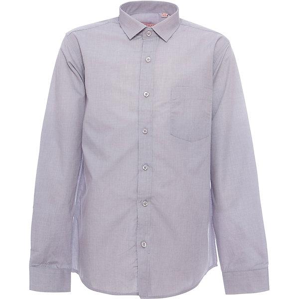 Рубашка для мальчика TsarevichБлузки и рубашки<br>Классическая рубашка - неотьемлемая вещь в гардеробе. Модель на пуговицах, с отложным воротником. Свободный покрой не стеснит движений и позволит чувствовать себя комфортно каждый день.  Состав 80 % хл. 20% П/Э<br>Ширина мм: 174; Глубина мм: 10; Высота мм: 169; Вес г: 157; Цвет: серый; Возраст от месяцев: 144; Возраст до месяцев: 156; Пол: Мужской; Возраст: Детский; Размер: 152/158,122/128,164/170,158/164,152/158,146/152,146/152,140/146,134/140,128/134; SKU: 4749370;